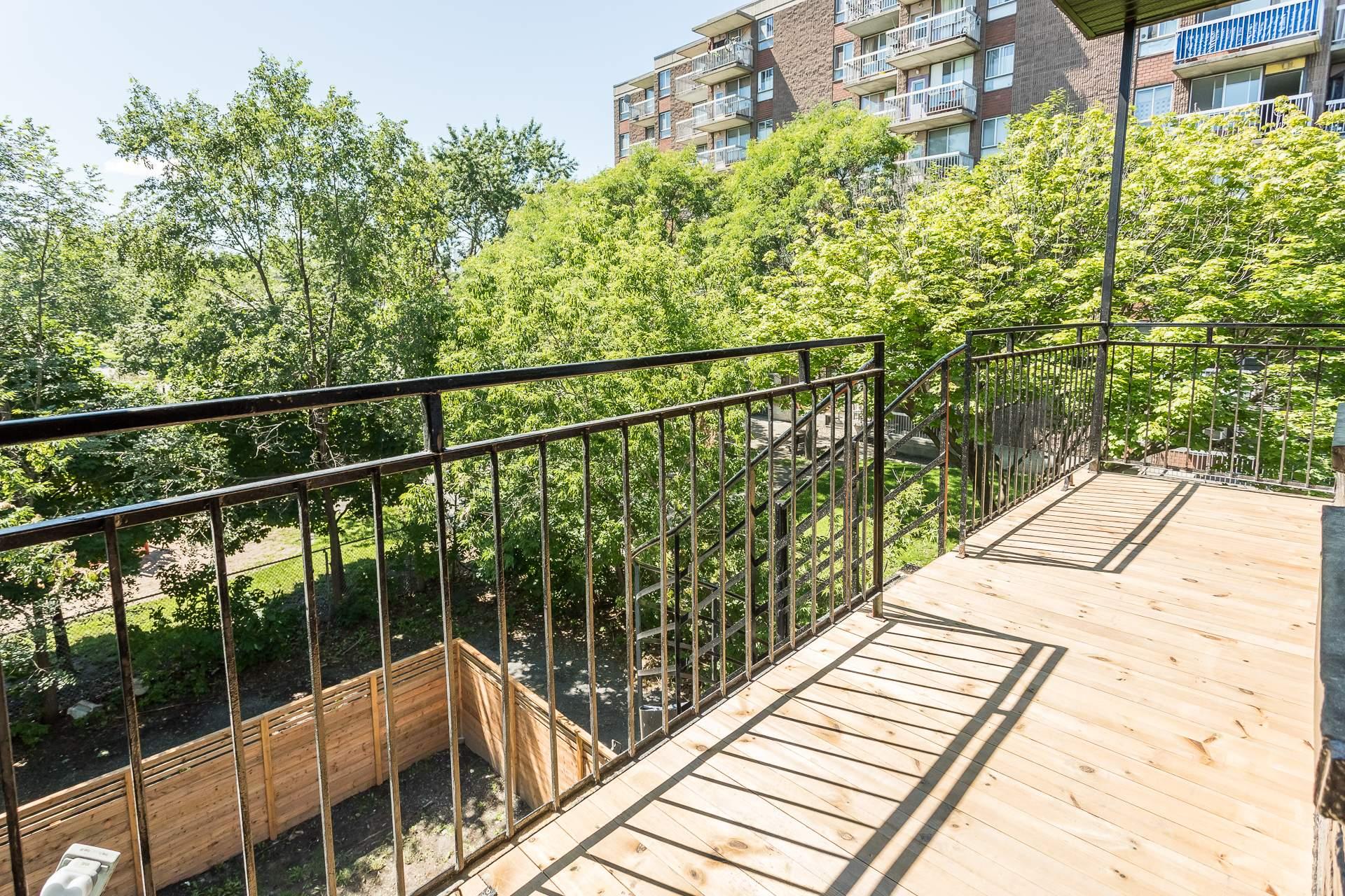 Balcon Triplex Montréal (Le Sud-Ouest)