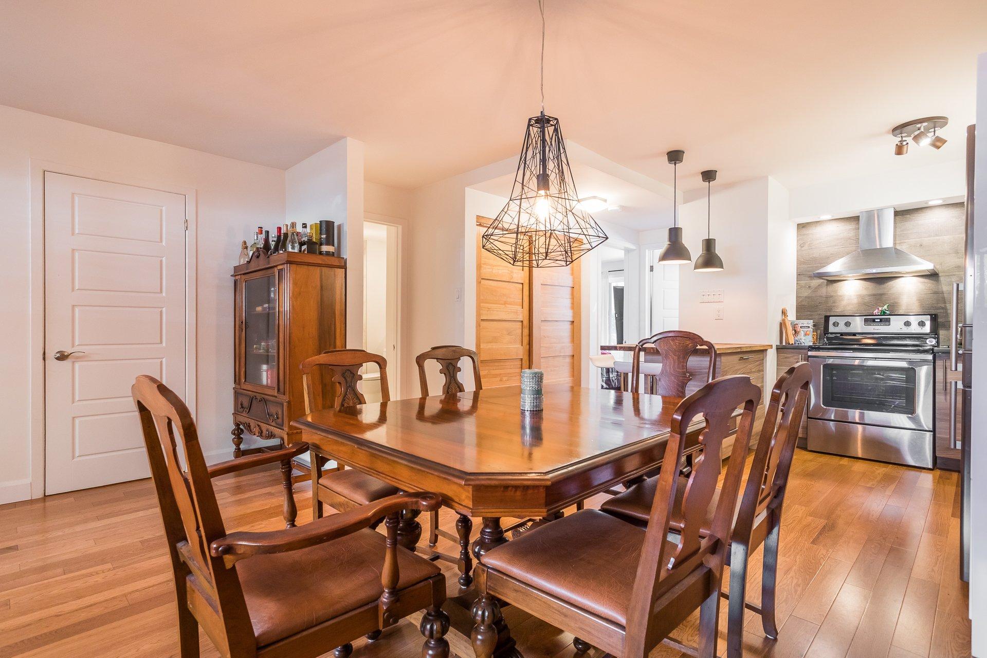Dining room Condo Montréal (Le Plateau-Mont-Royal)