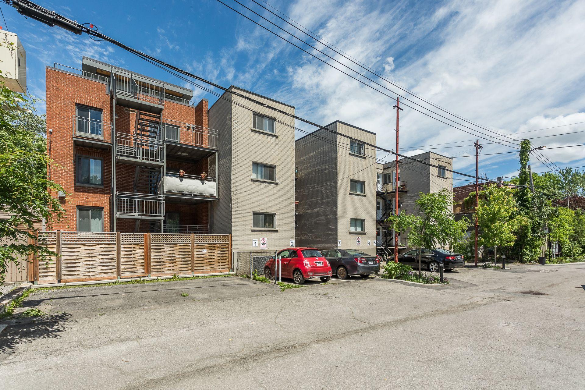 Back facade Condo Montréal (Le Plateau-Mont-Royal)