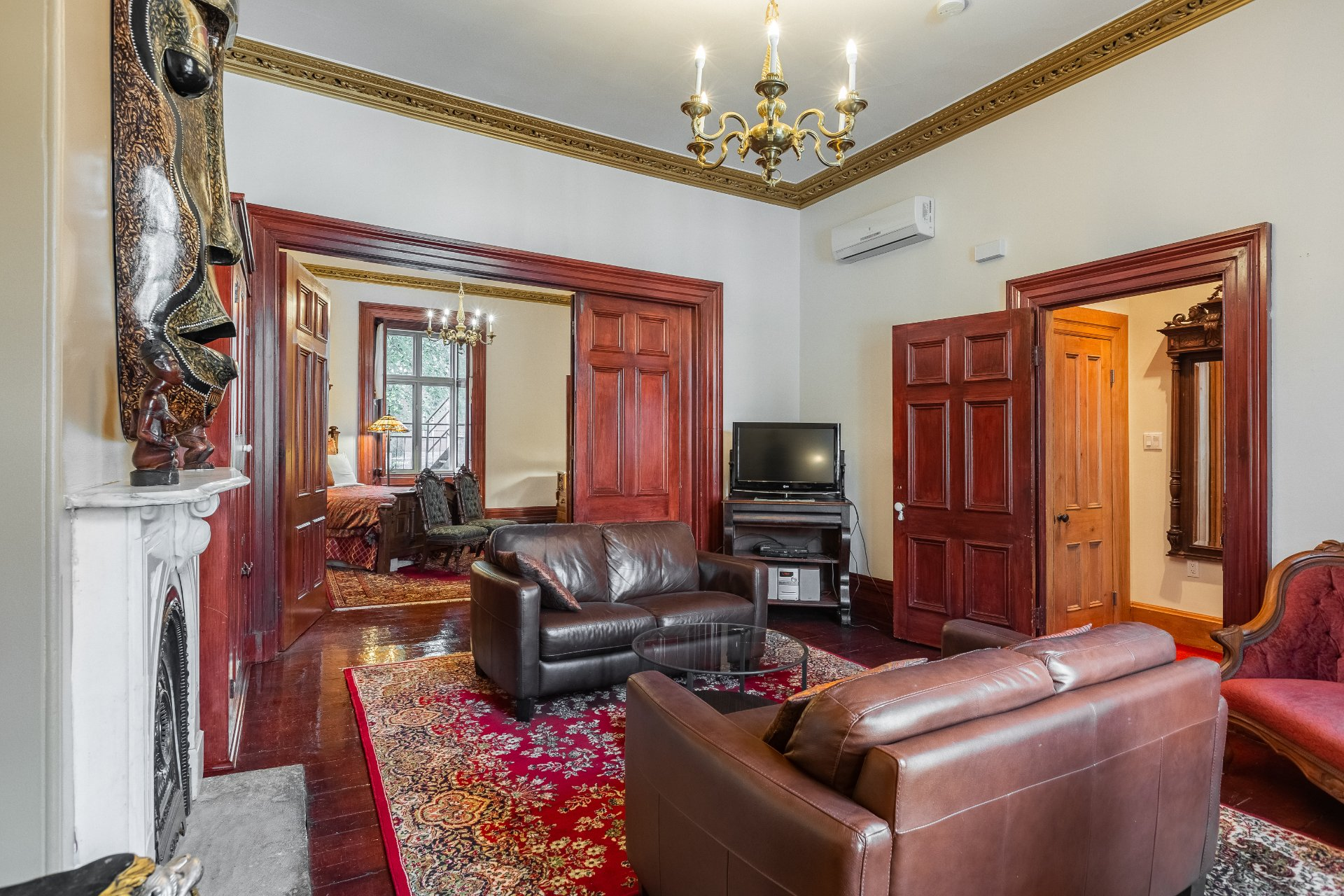 Living room Quadruplex Montréal (Ville-Marie)