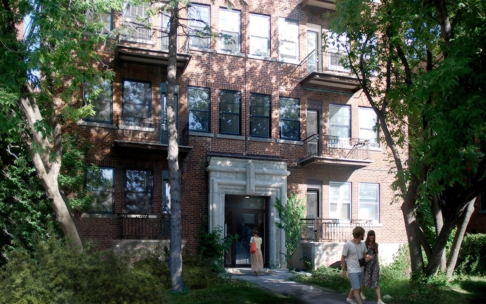 Façade Condo Montréal (Côte-des-Neiges/Notre-Dame-de-Grâce)