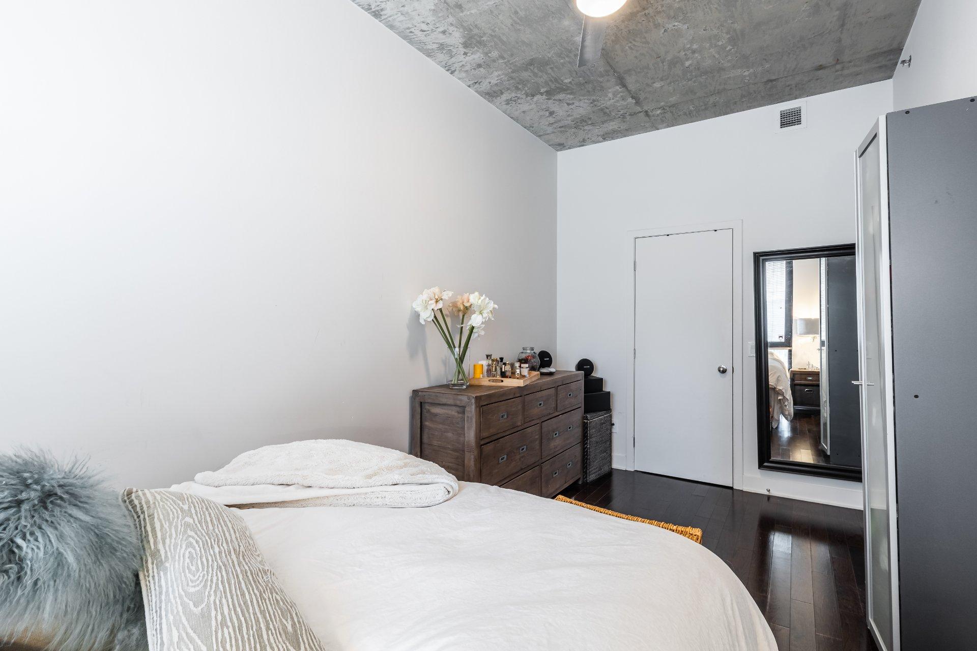 Chambre à coucher Condo Montréal (Le Sud-Ouest)