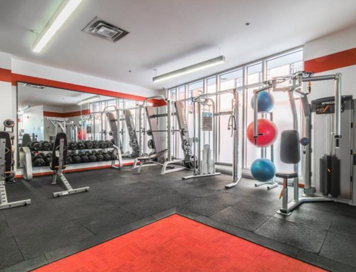 Salle d'exercice Condo Montréal (Le Sud-Ouest)