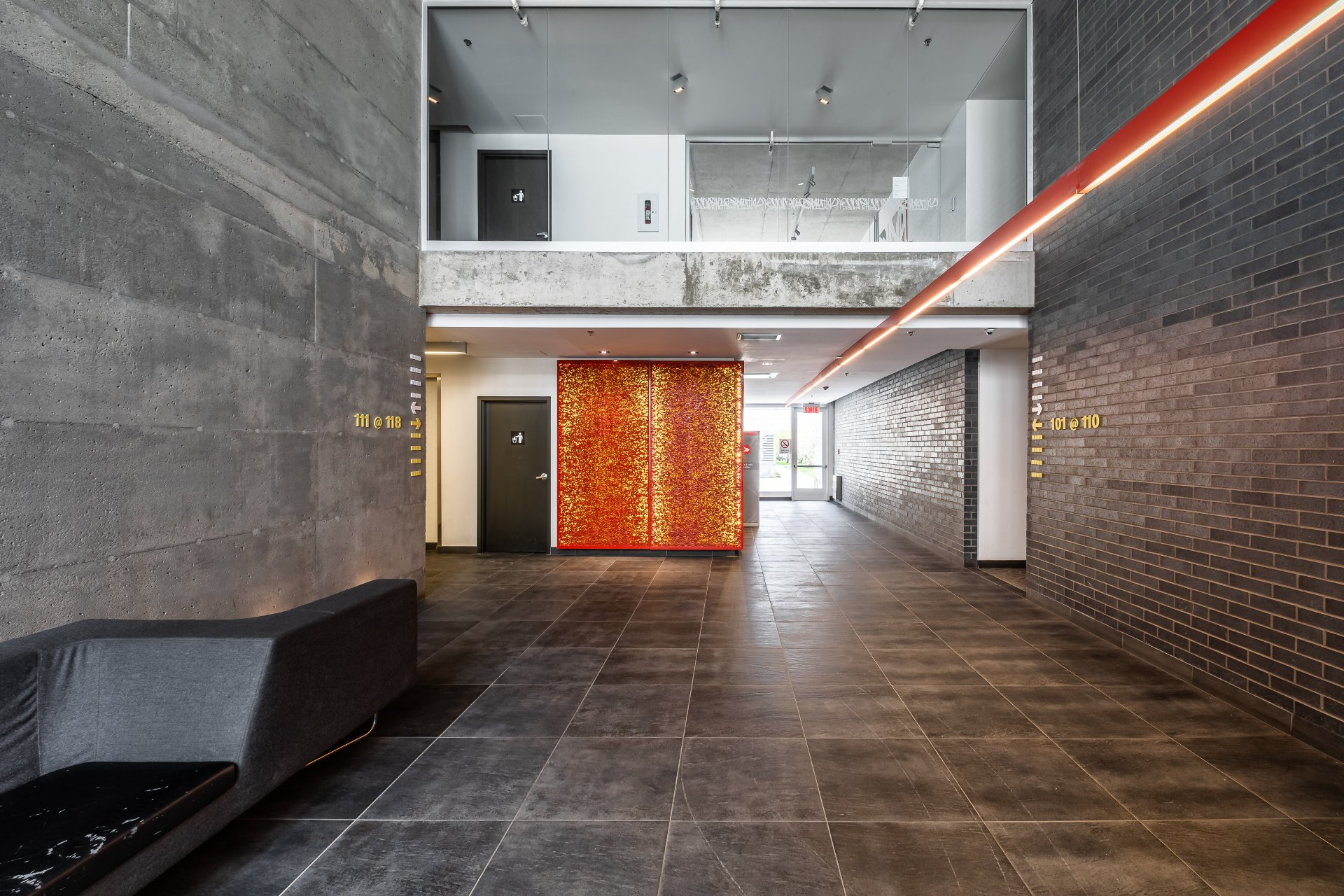 Hall d'entrée Condo Montréal (Le Sud-Ouest)