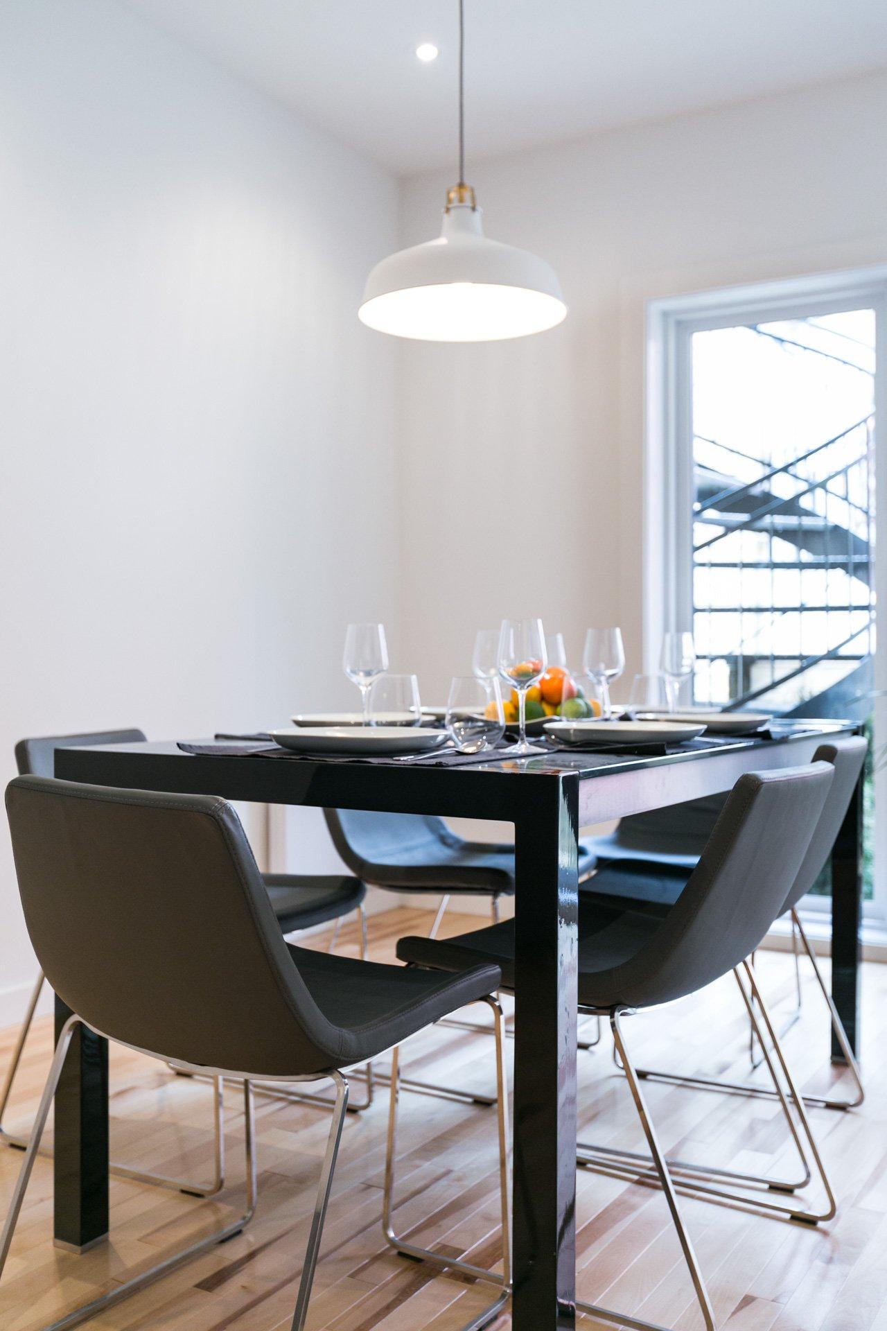 Salle à manger Condo Montréal (Le Plateau-Mont-Royal)