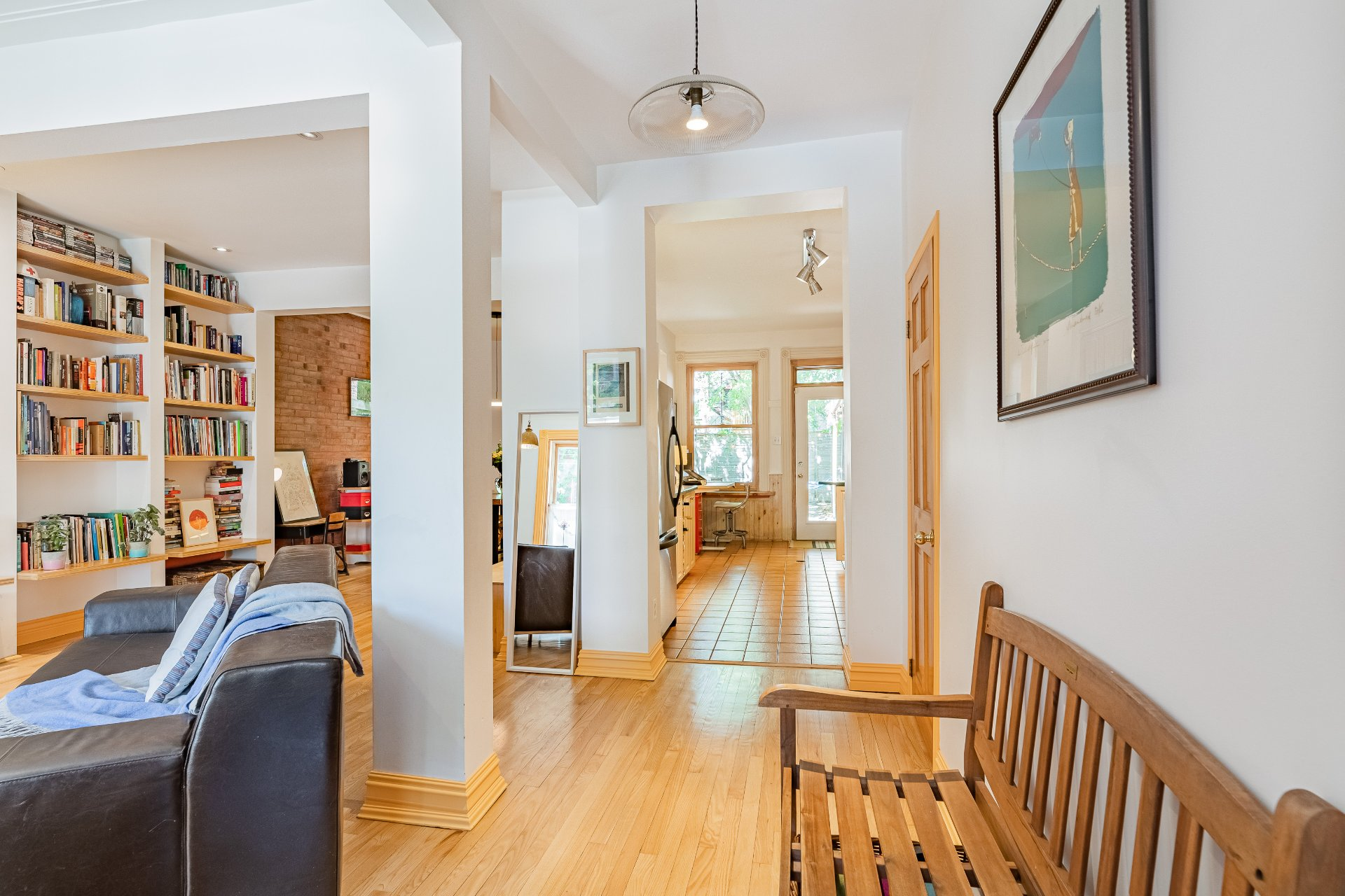 Living room House Montréal (Le Plateau-Mont-Royal)