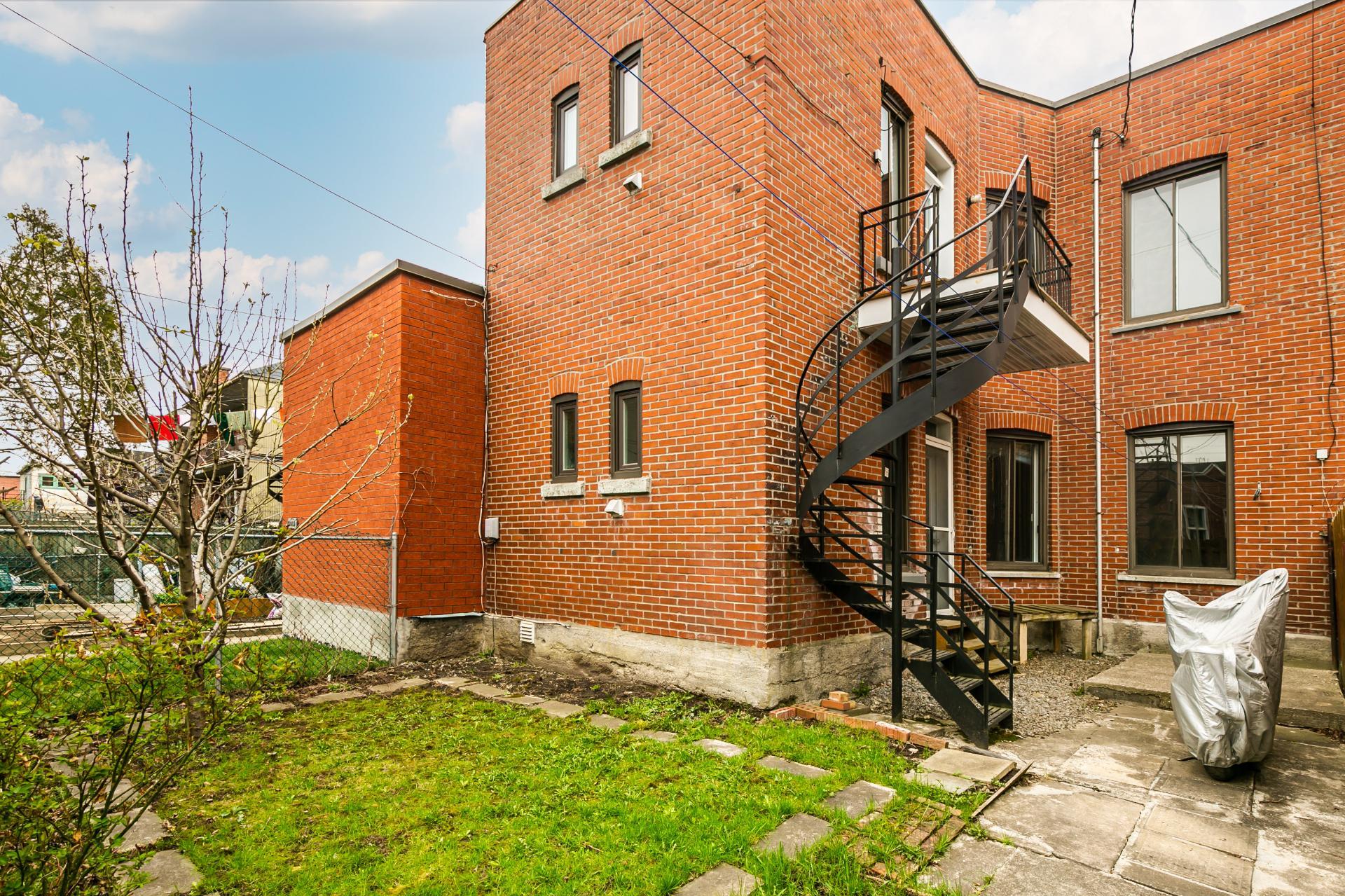 Face arrière Duplex Montréal (Villeray/Saint-Michel/Parc-Extension)