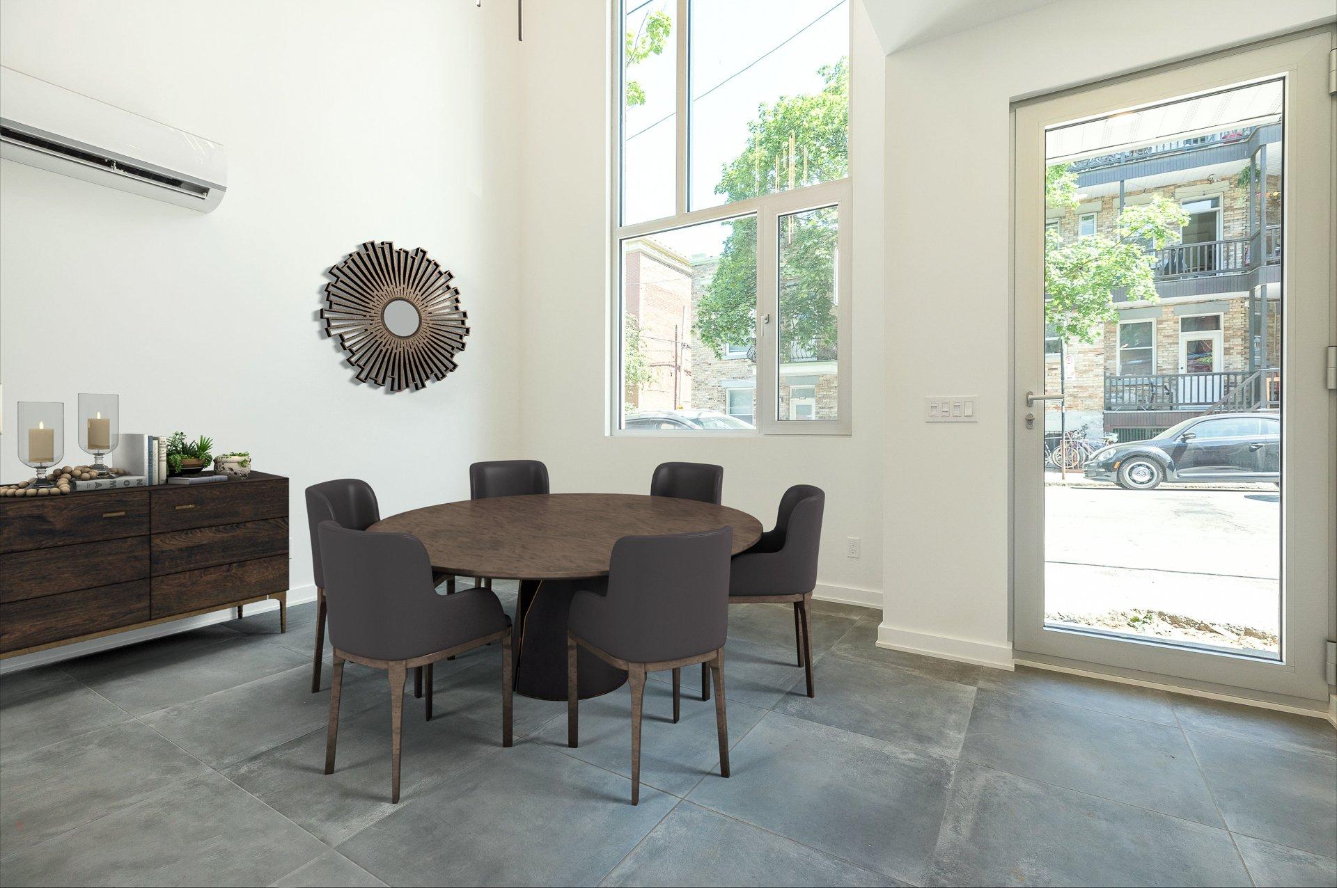 Salle à manger Maison Montréal (Le Plateau-Mont-Royal)