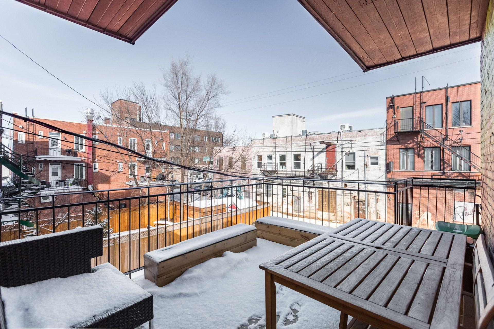 Terrasse Condo Montréal (Rosemont/La Petite-Patrie)