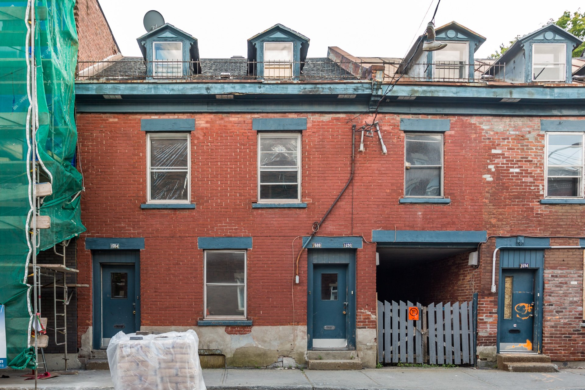 Façade Duplex Montréal (Ville-Marie)
