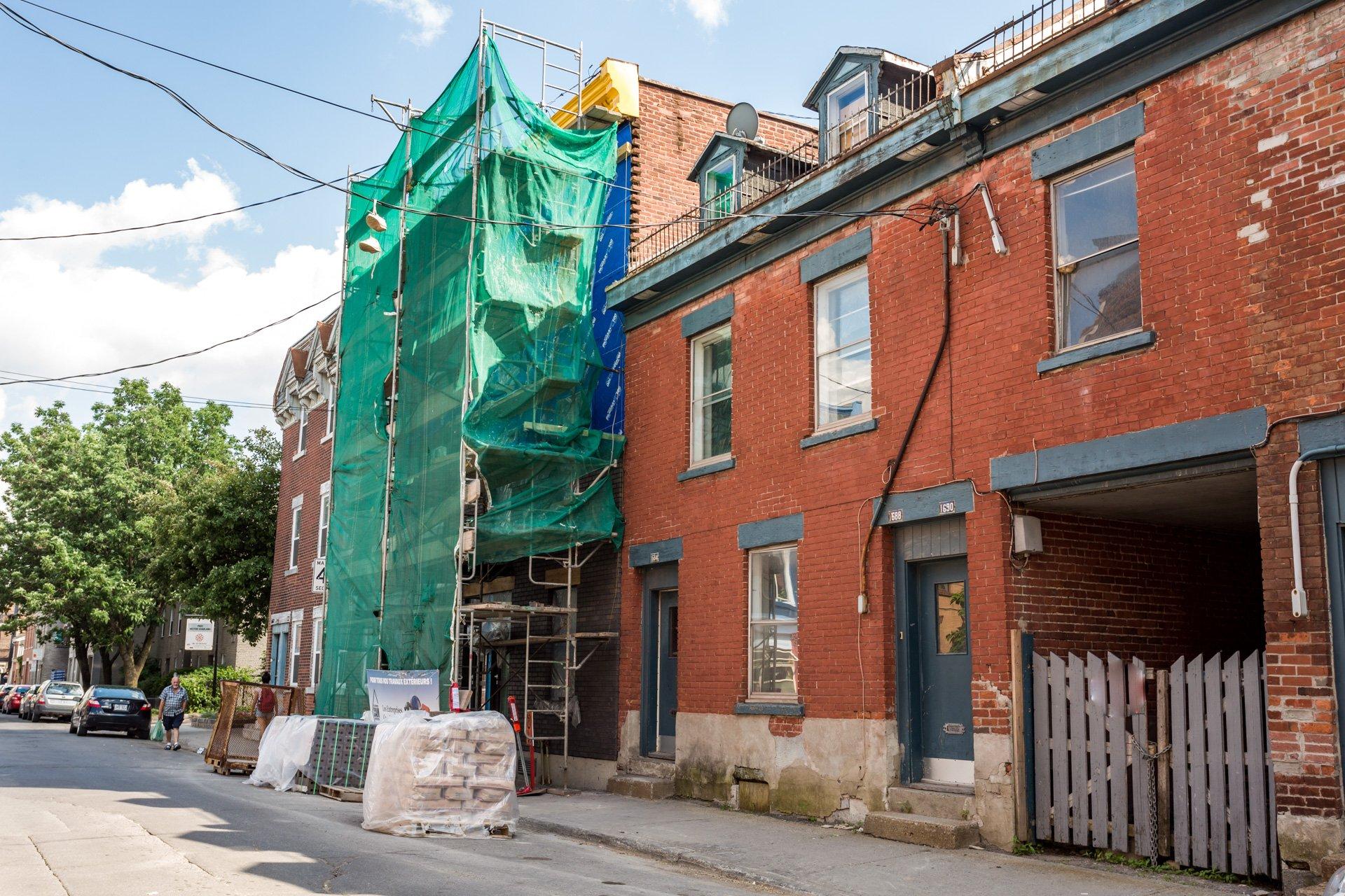 Rue Duplex Montréal (Ville-Marie)