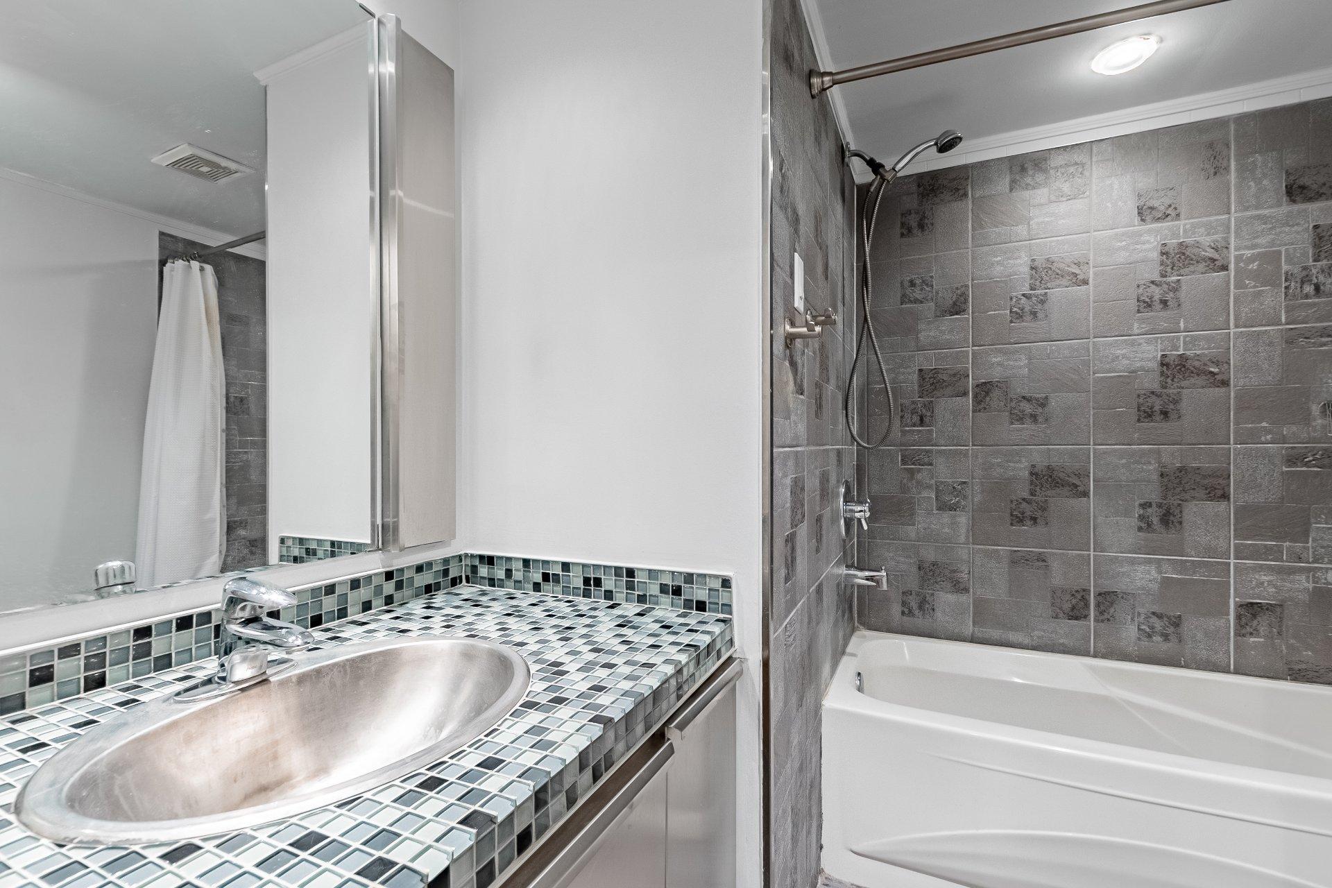 Bathroom Condo Montréal (Le Plateau-Mont-Royal)