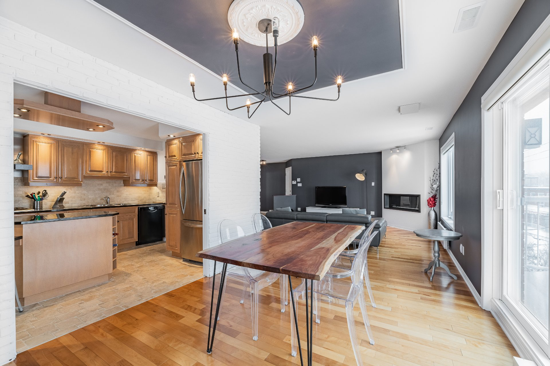 Dining room Condo Longueuil (Le Vieux-Longueuil)