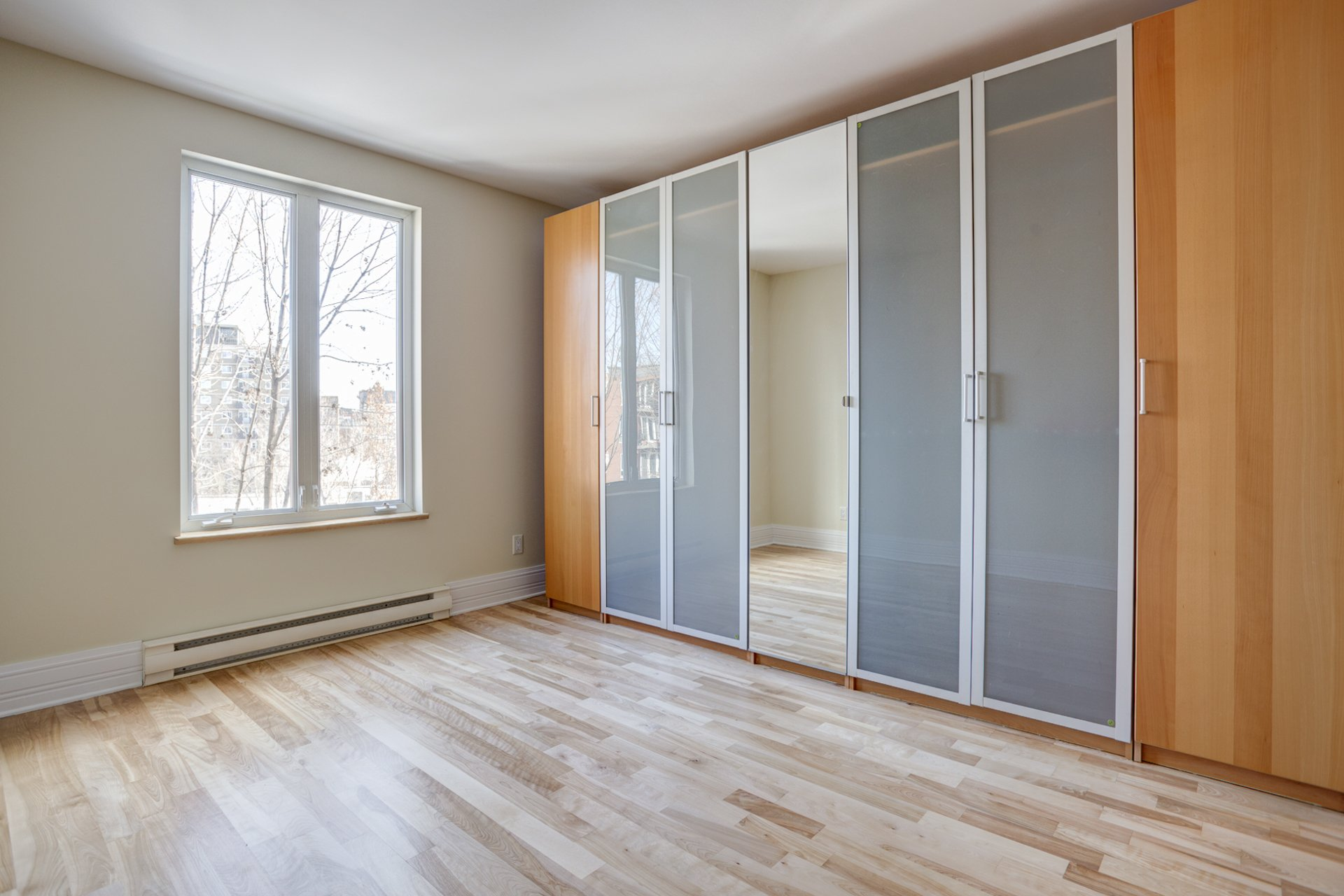 Chambre à coucher principale Condo Montréal (Ville-Marie)