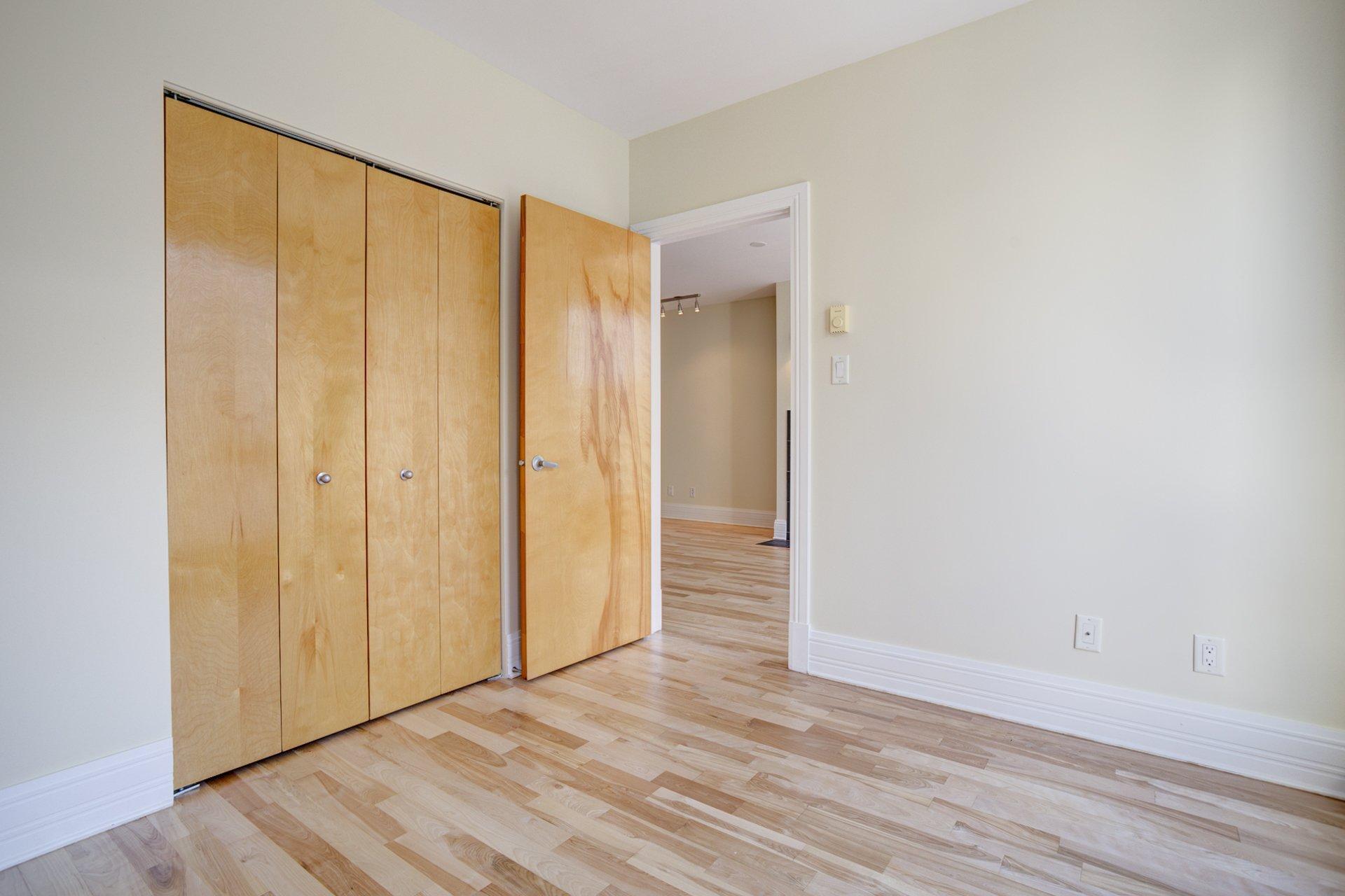 Chambre à coucher Condo Montréal (Ville-Marie)