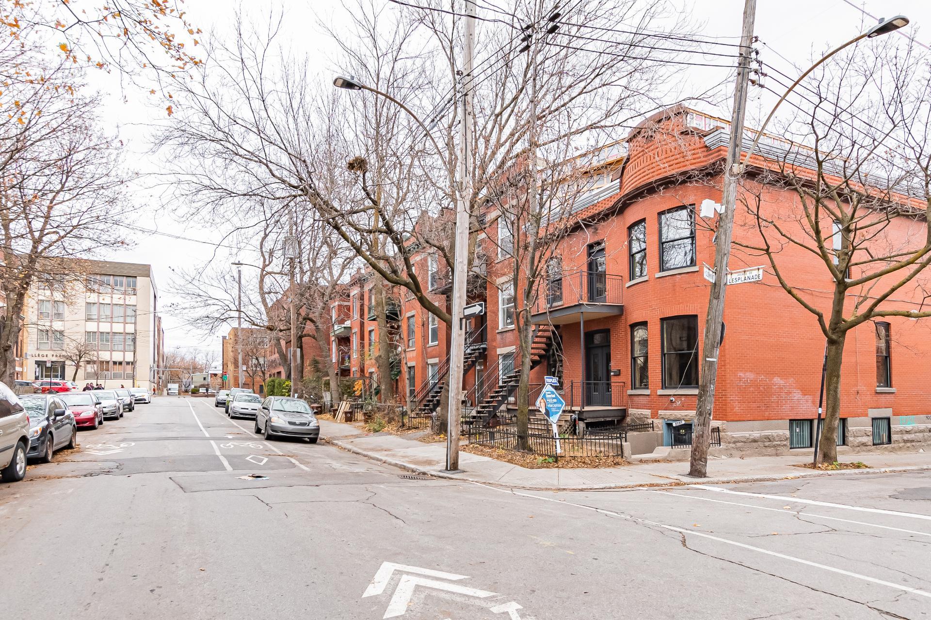 Rue Triplex Montréal (Le Plateau-Mont-Royal)