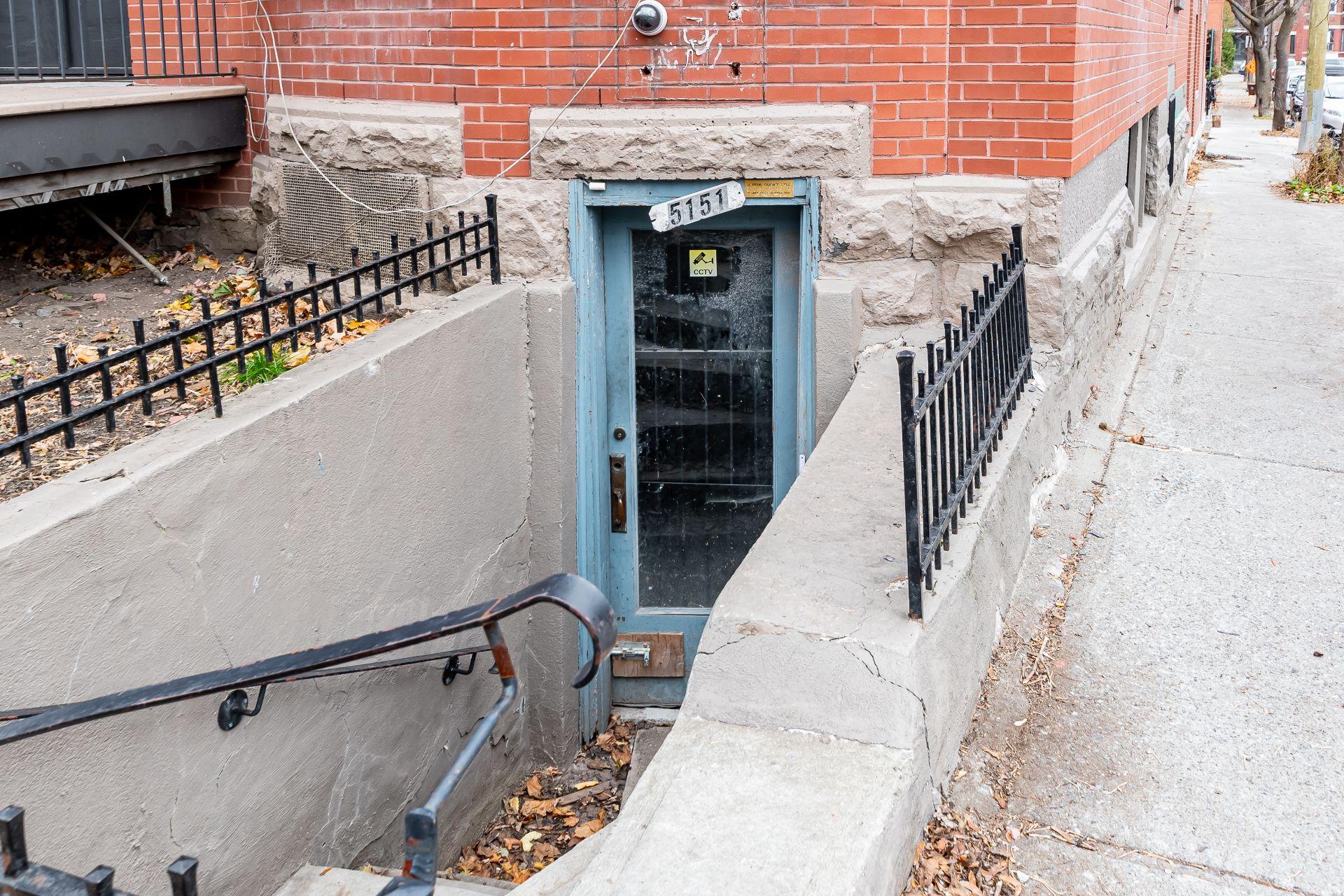 Sous-sol Triplex Montréal (Le Plateau-Mont-Royal)