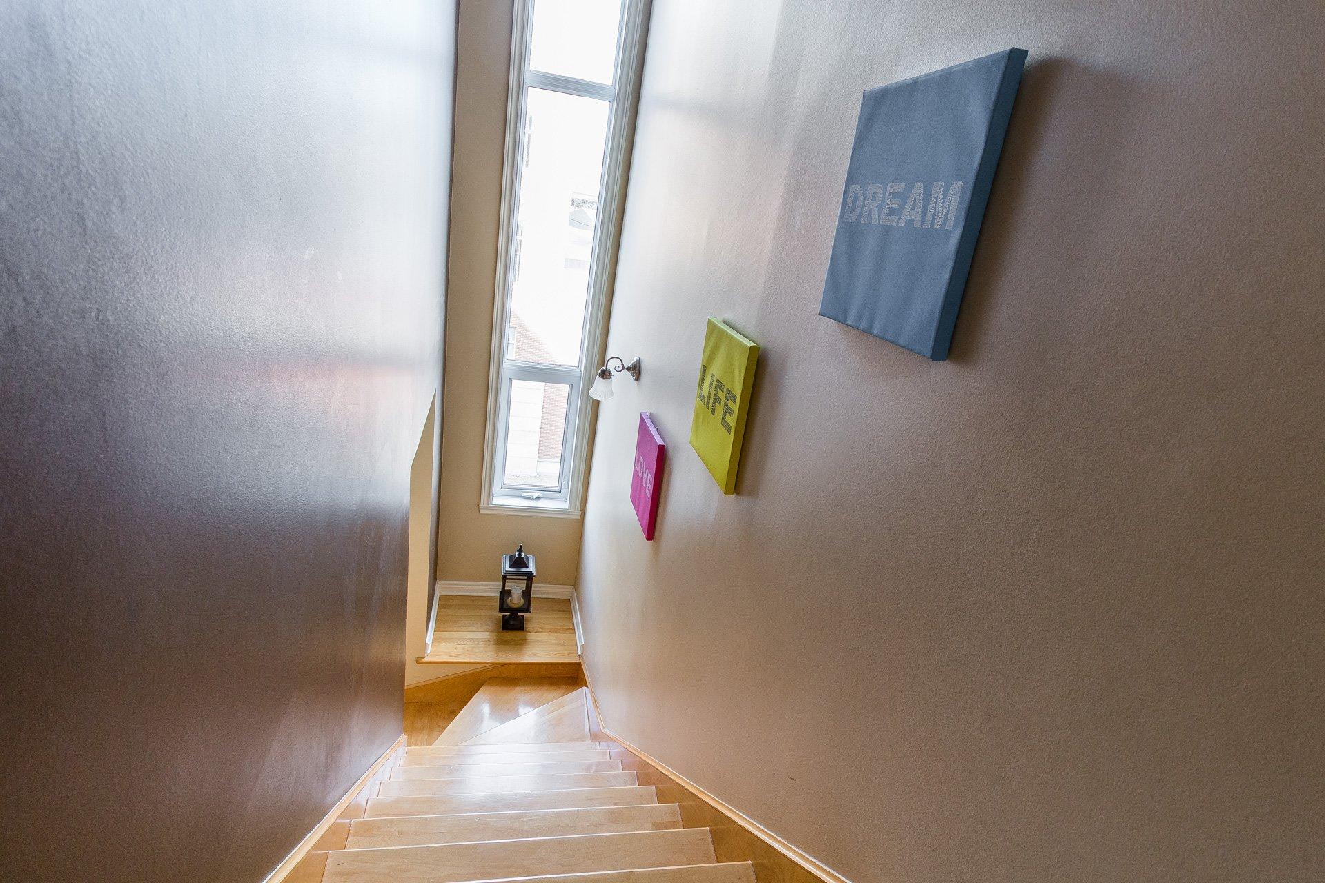 Escalier Condo Montréal (Outremont)