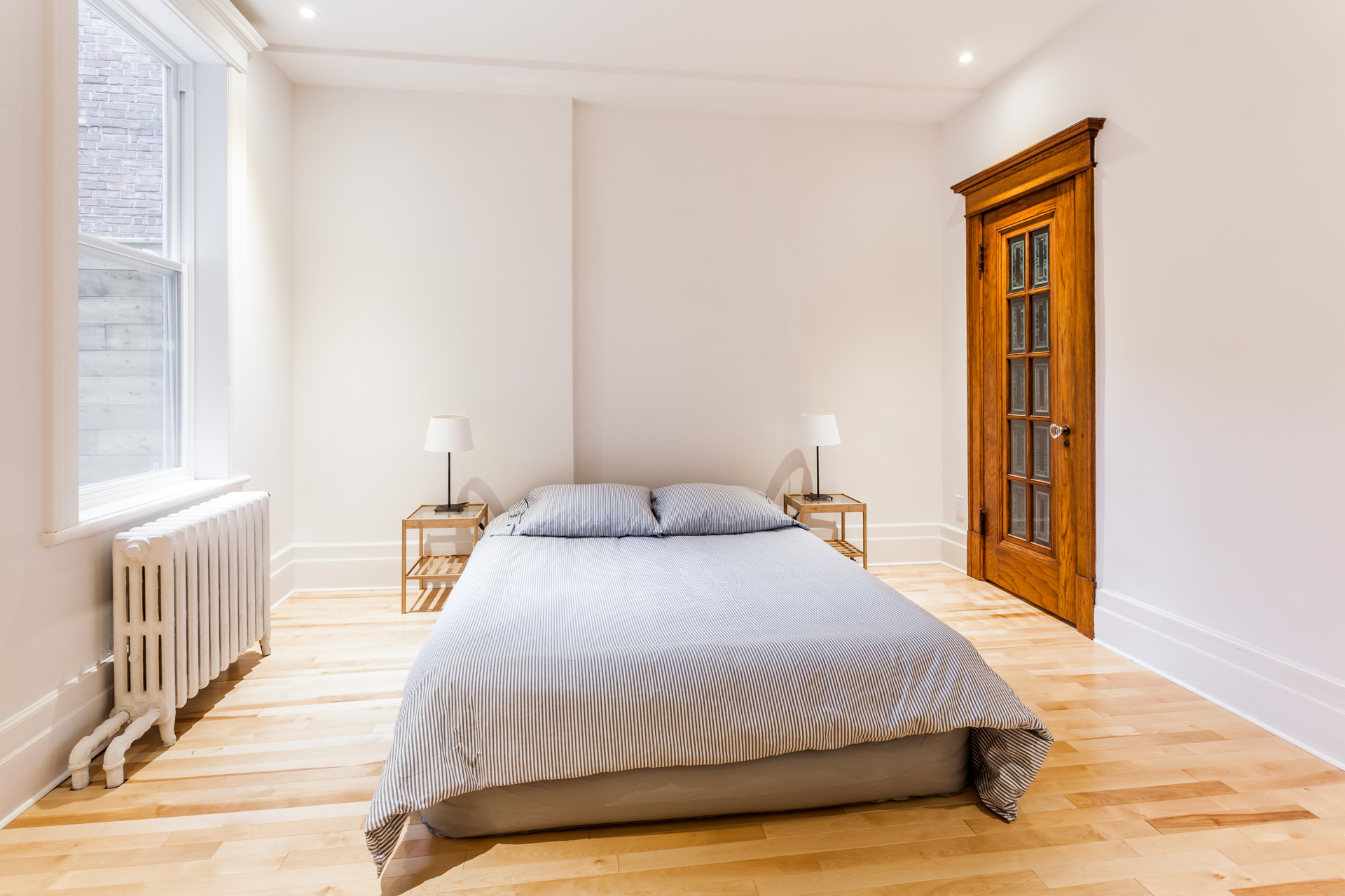 Chambre à coucher Condo Montréal (Outremont)