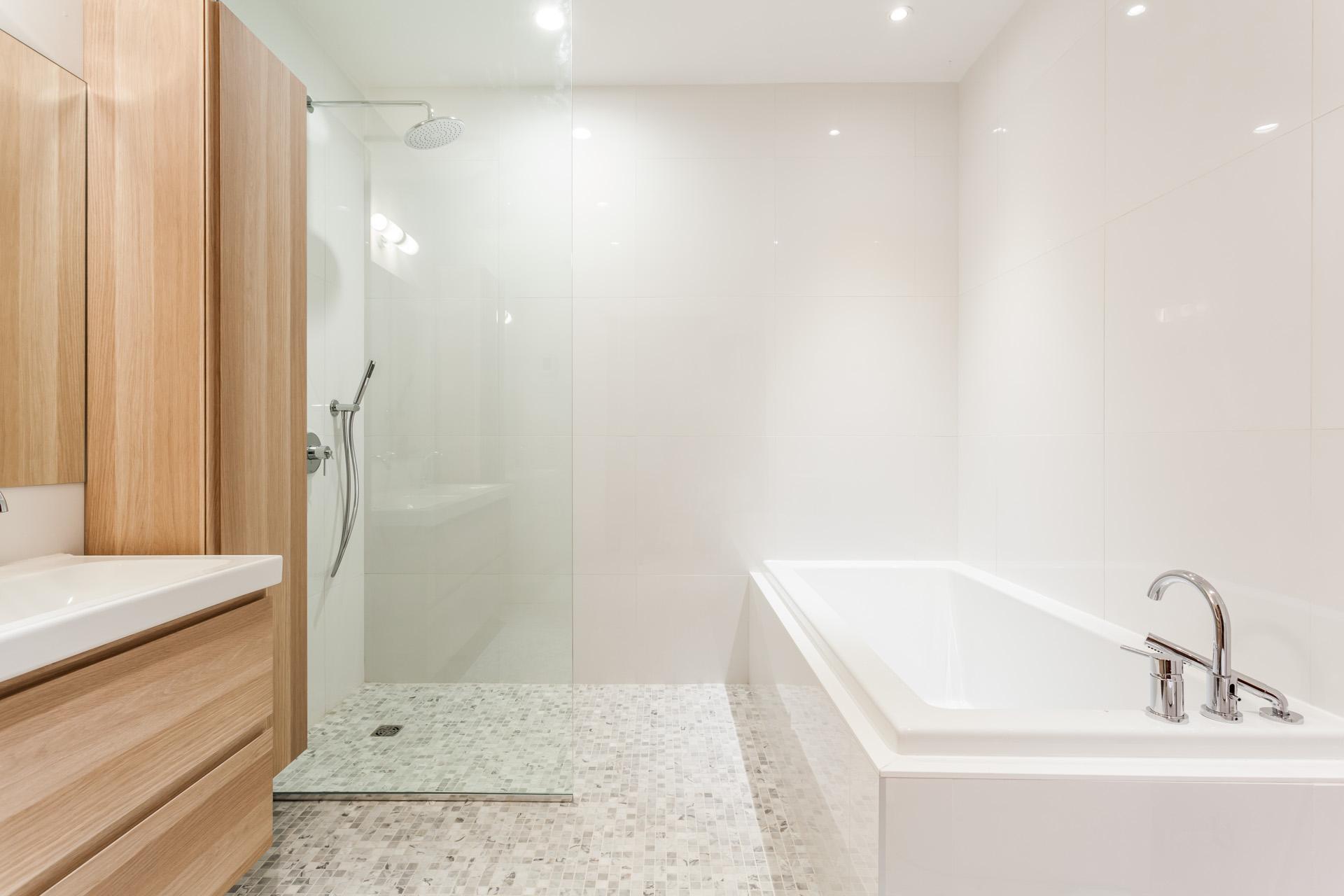 Salle de bains Condo Montréal (Outremont)
