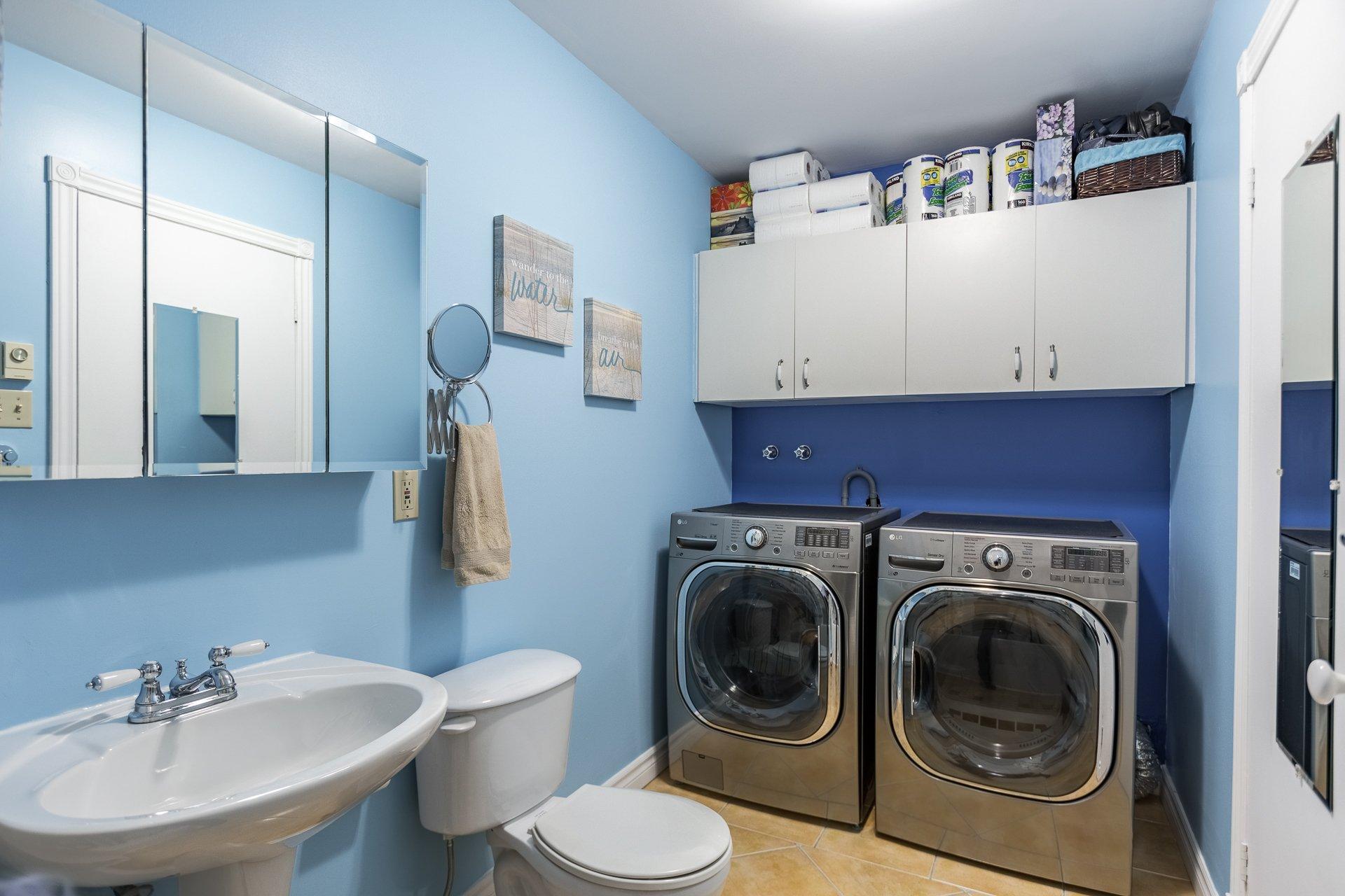 Salle de lavage Condo Montréal (Rosemont/La Petite-Patrie)