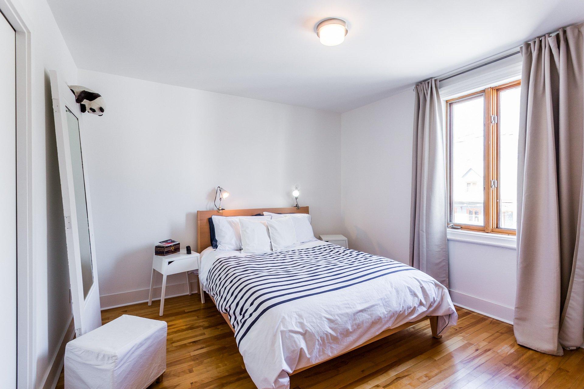 Chambre à coucher principale Maison Longueuil (Le Vieux-Longueuil)