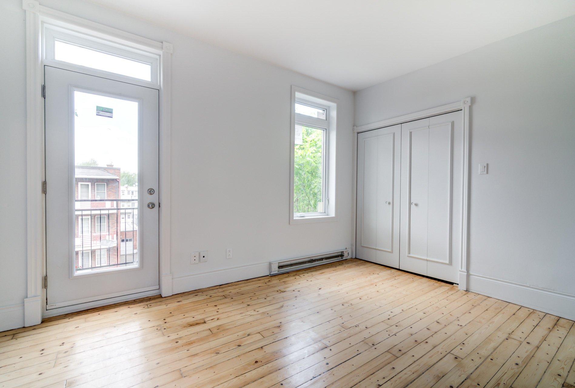 Chambre à coucher Condo Montréal (Mercier/Hochelaga-Maisonneuve)