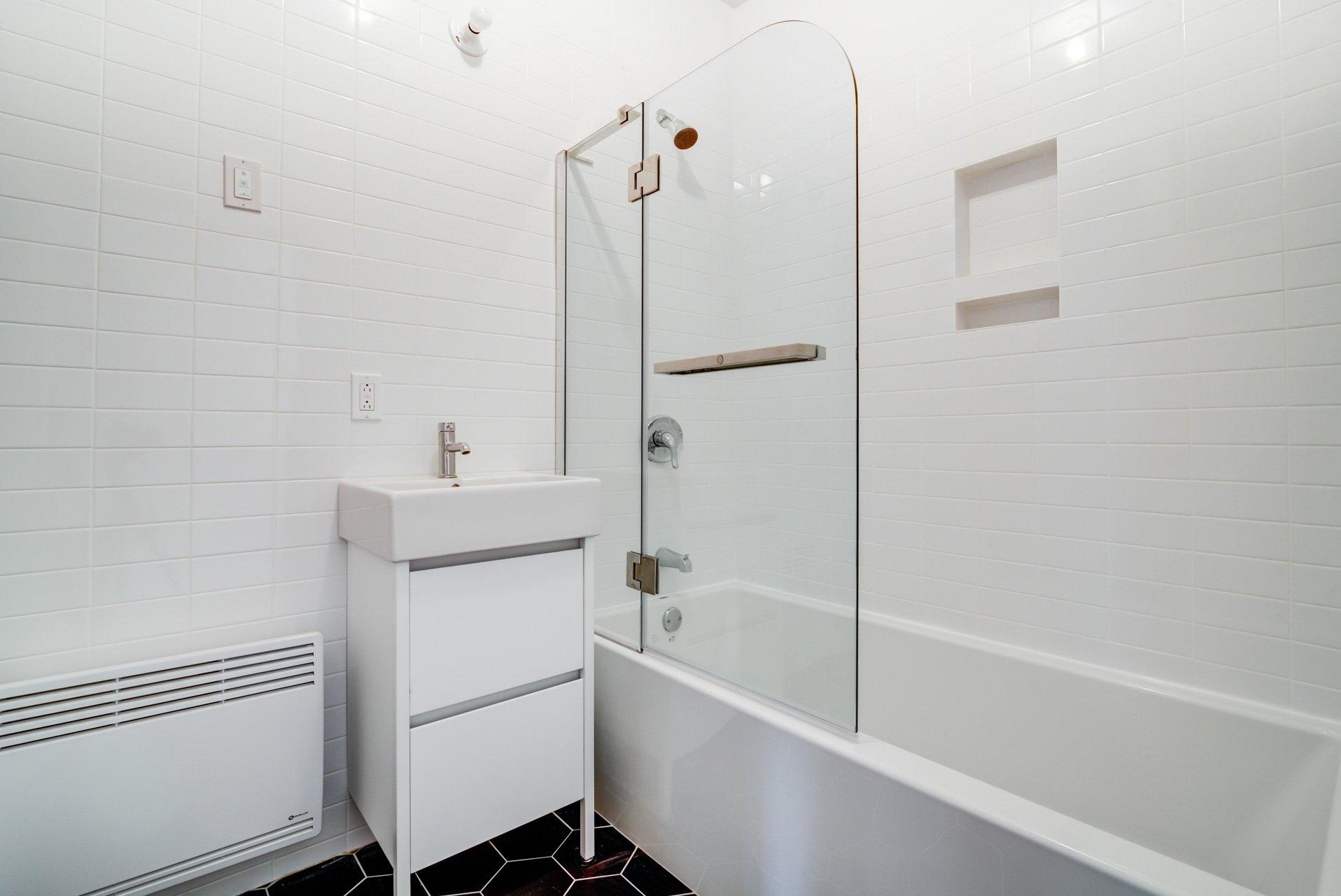 Salle de bains Condo Montréal (Mercier/Hochelaga-Maisonneuve)