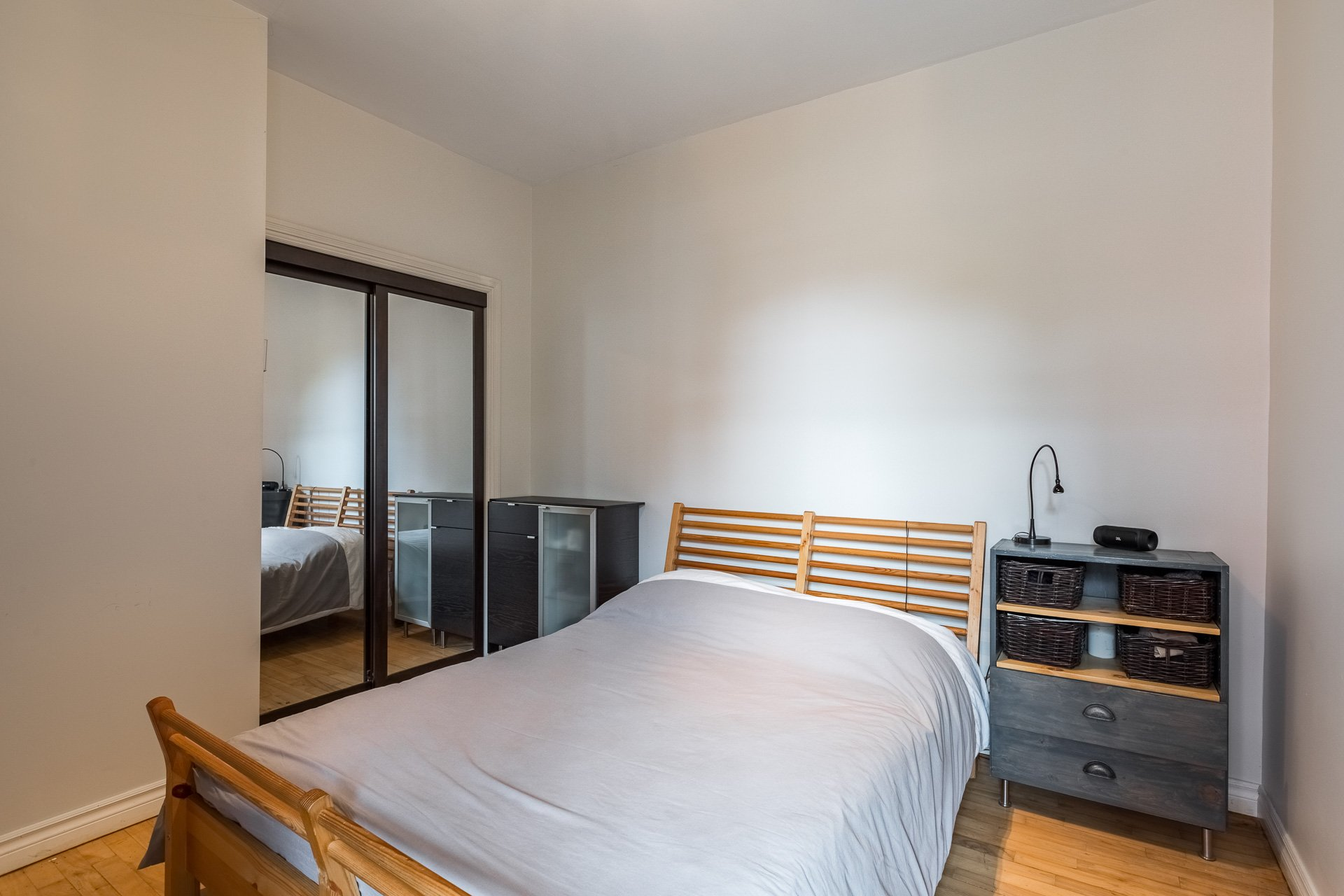 Chambre à coucher principale Duplex Montréal (Rosemont/La Petite-Patrie)