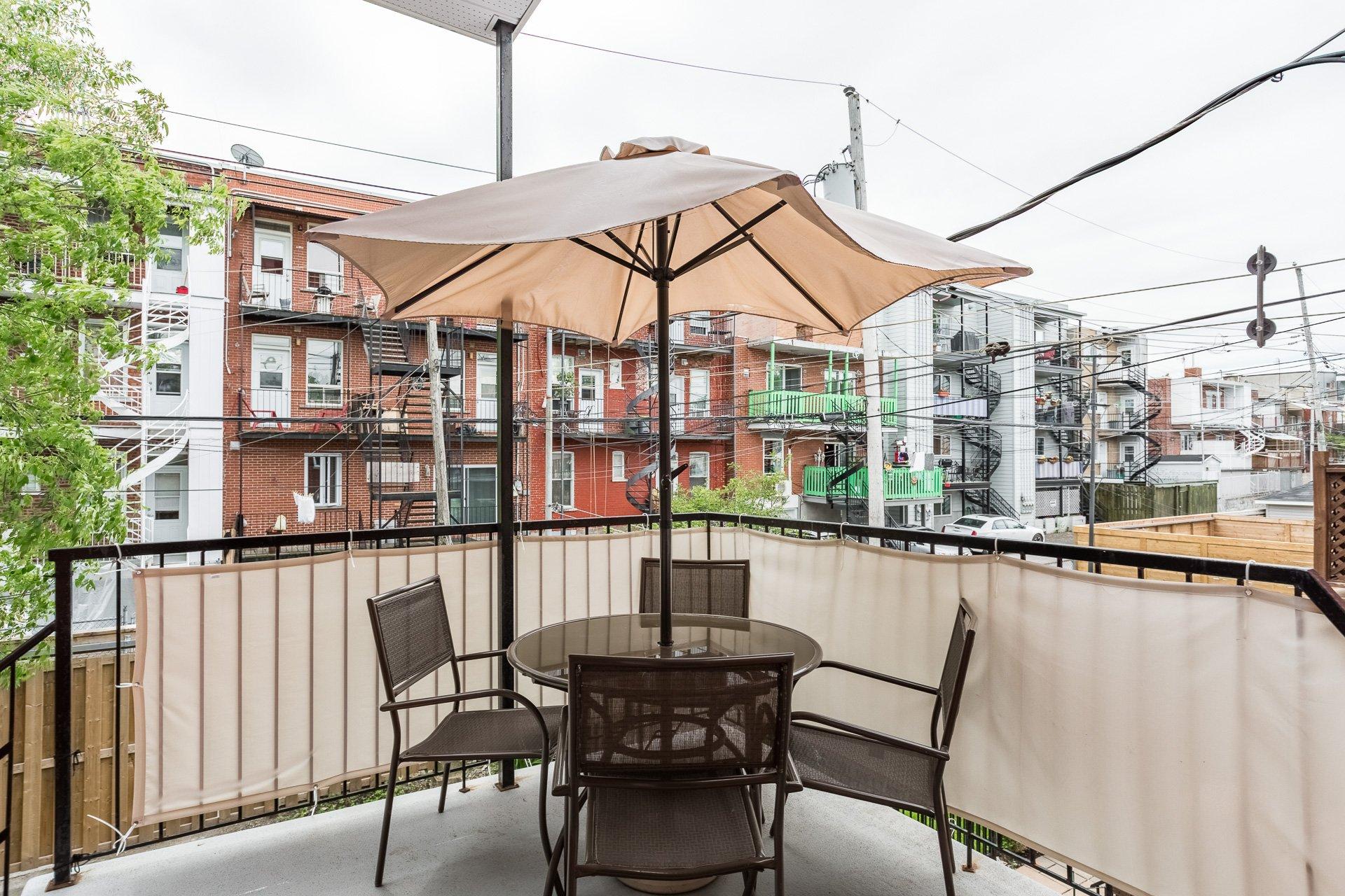 Terrasse Duplex Montréal (Rosemont/La Petite-Patrie)