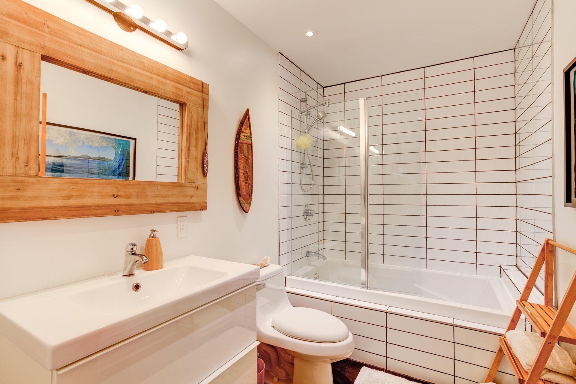 Bathroom Condo Montréal (Rosemont/La Petite-Patrie)