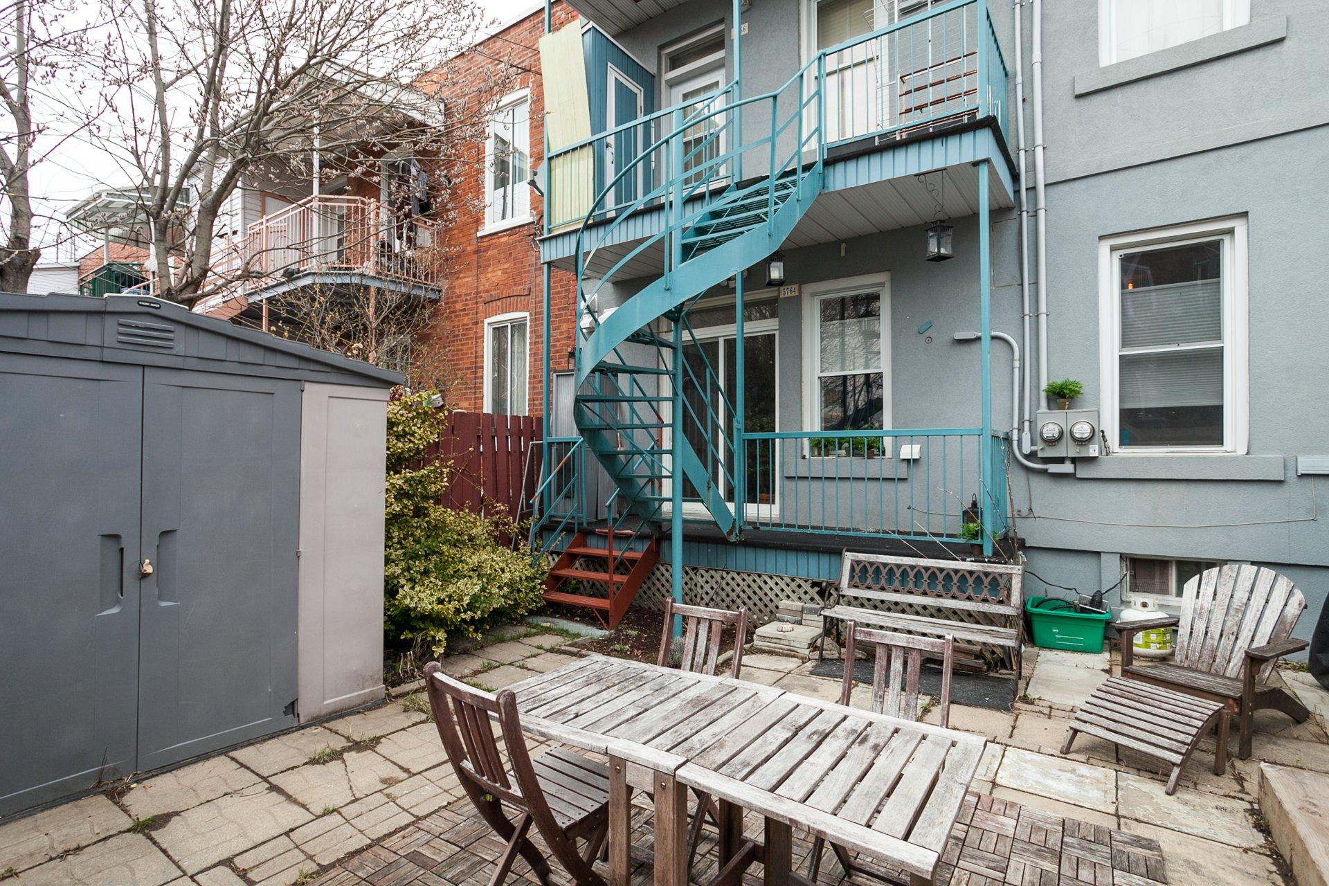 Backyard Condo Montréal (Rosemont/La Petite-Patrie)
