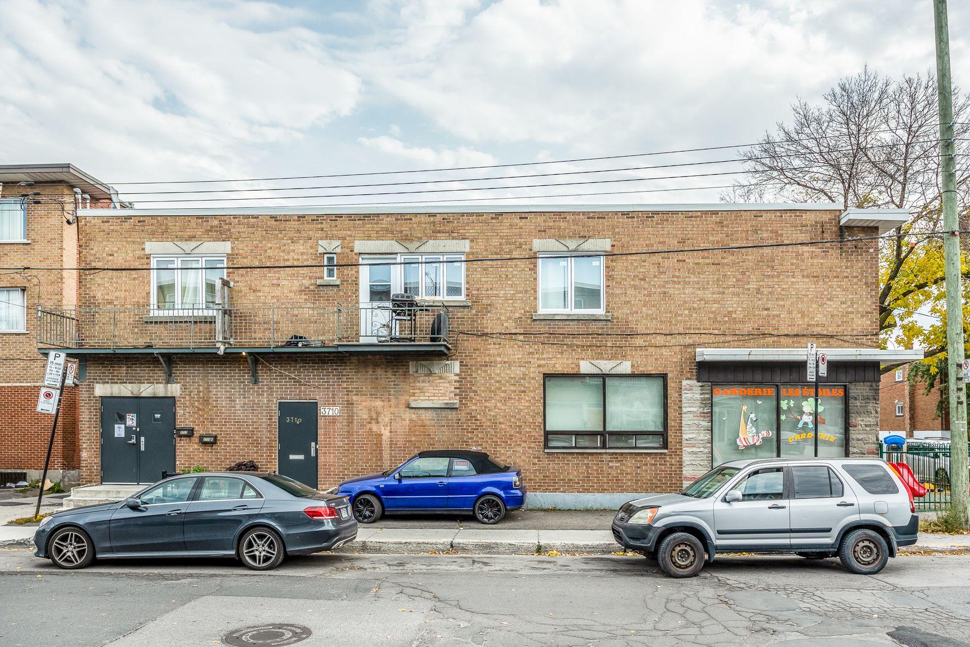 Façade Triplex Montréal (Villeray/Saint-Michel/Parc-Extension)