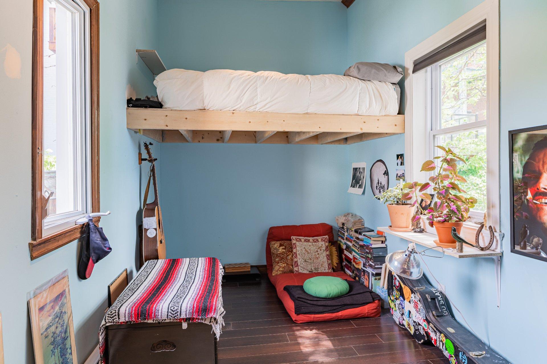 Chambre à coucher Maison Montréal (Le Plateau-Mont-Royal)