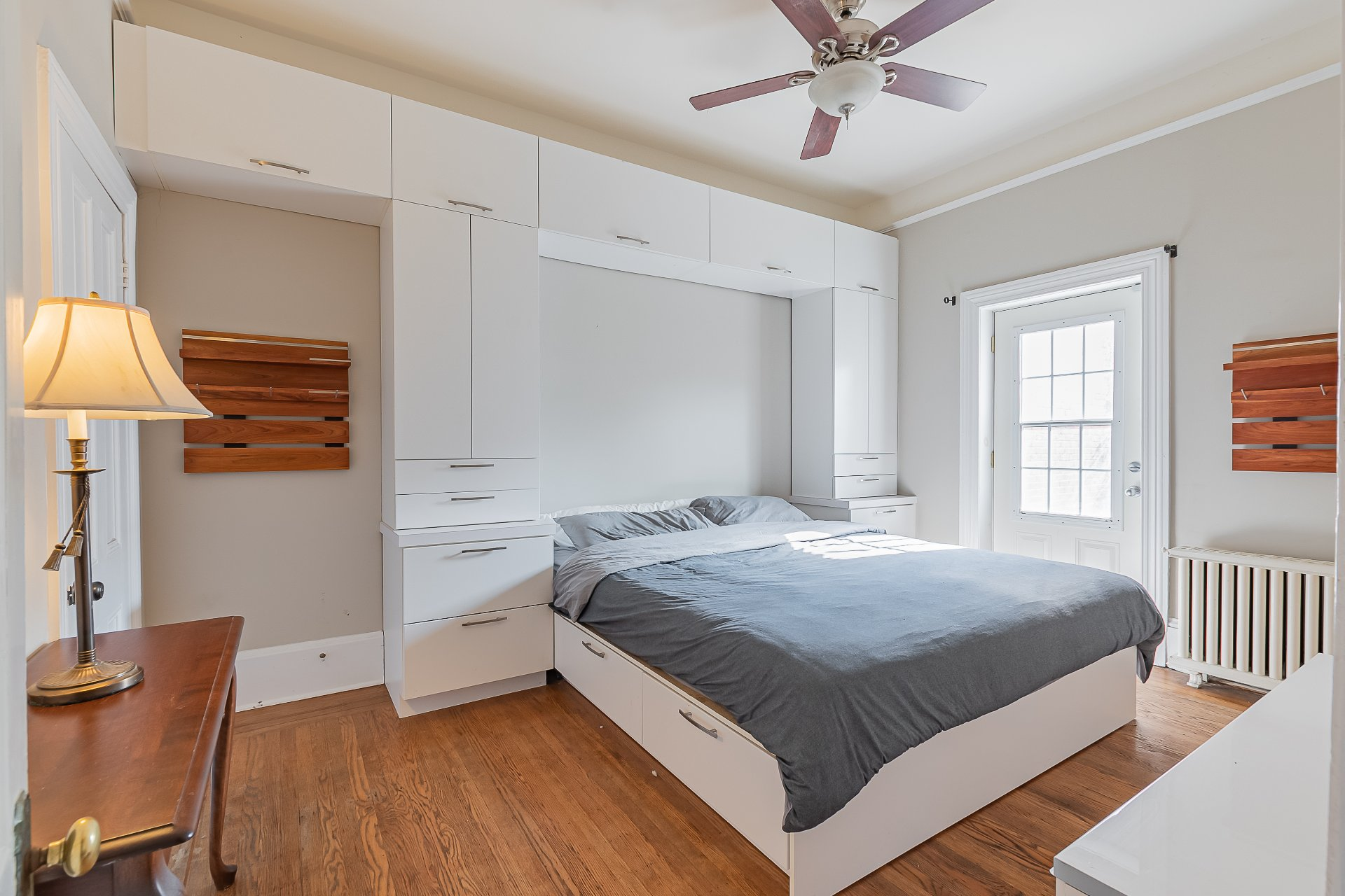Chambre à coucher principale Maison Montréal (Le Plateau-Mont-Royal)