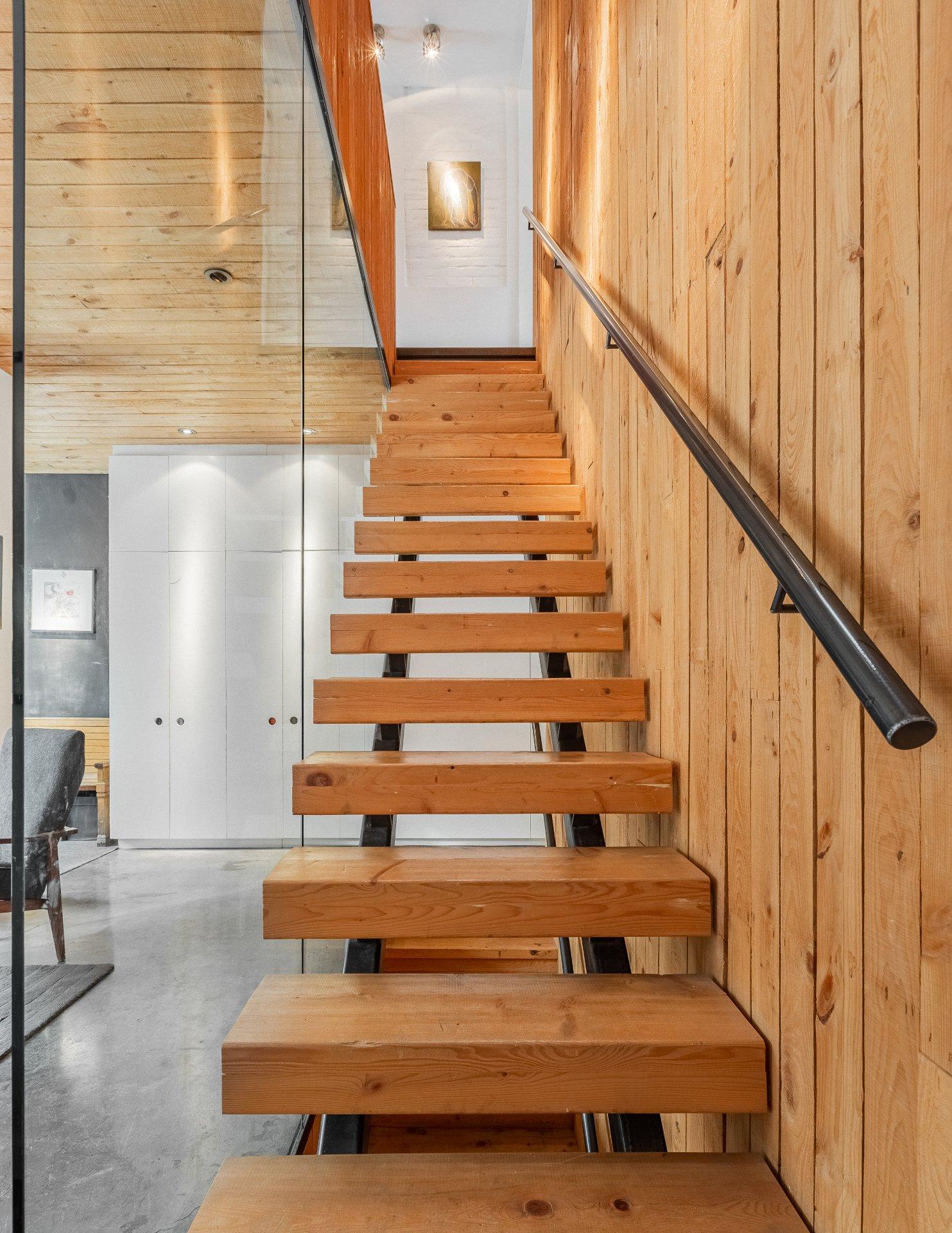 Escalier Maison Montréal (Le Plateau-Mont-Royal)