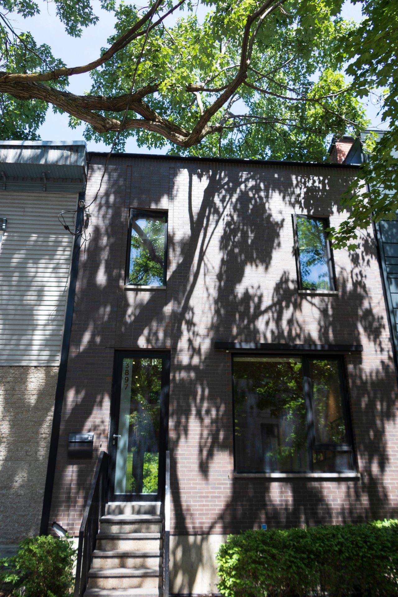 Façade Maison Montréal (Le Plateau-Mont-Royal)