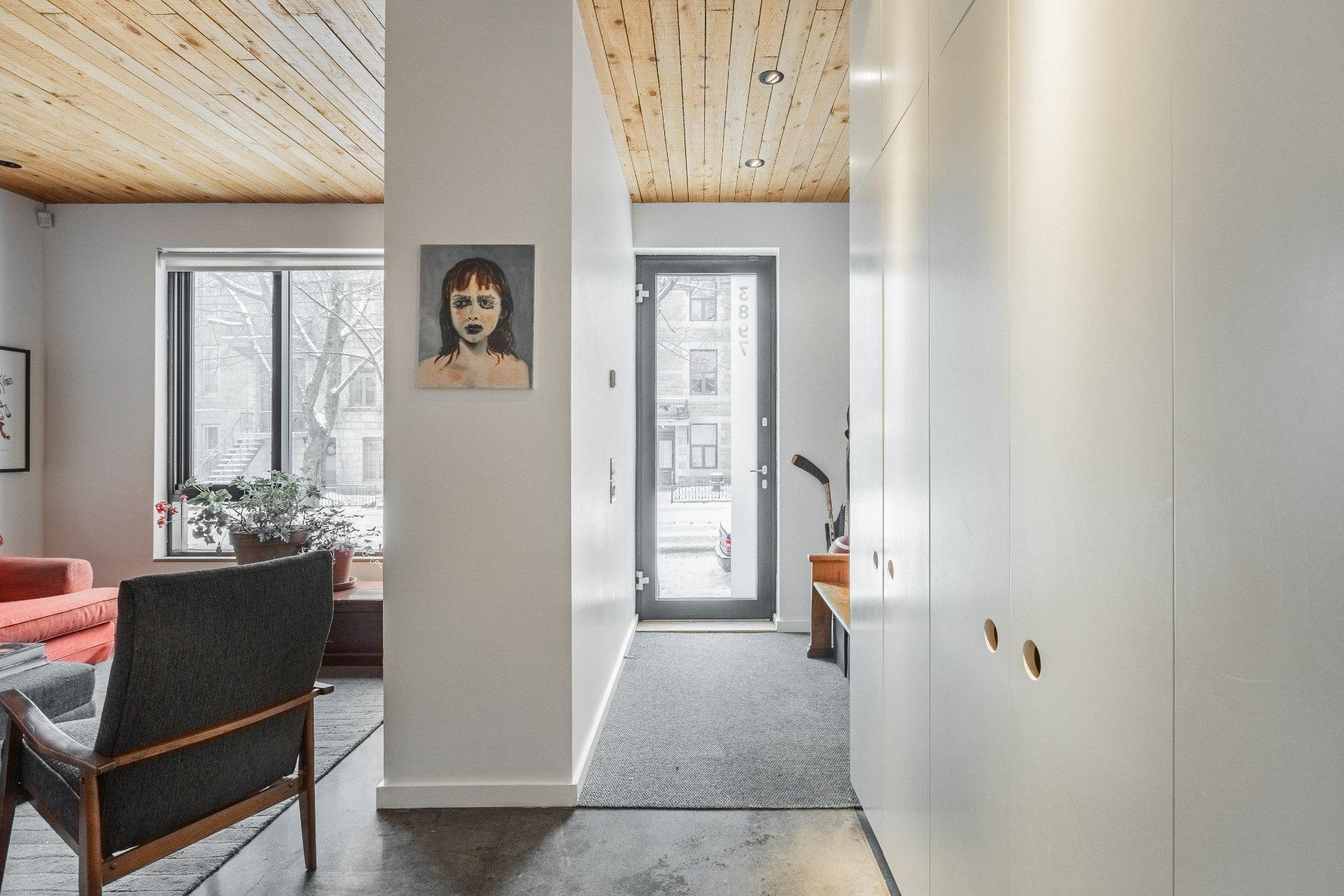 Hall d'entrée Maison Montréal (Le Plateau-Mont-Royal)
