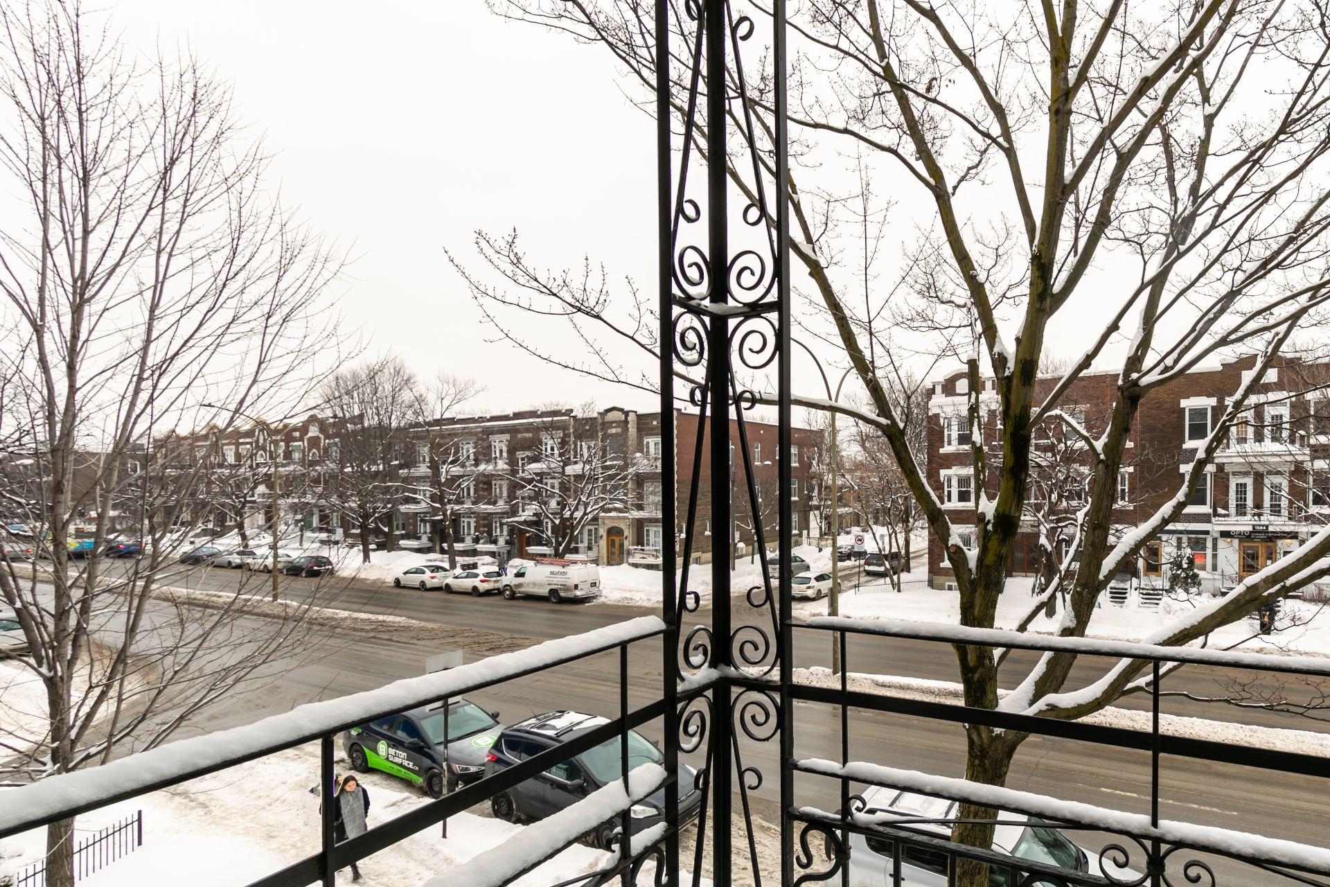 Balcon Condo Montréal (Le Plateau-Mont-Royal)