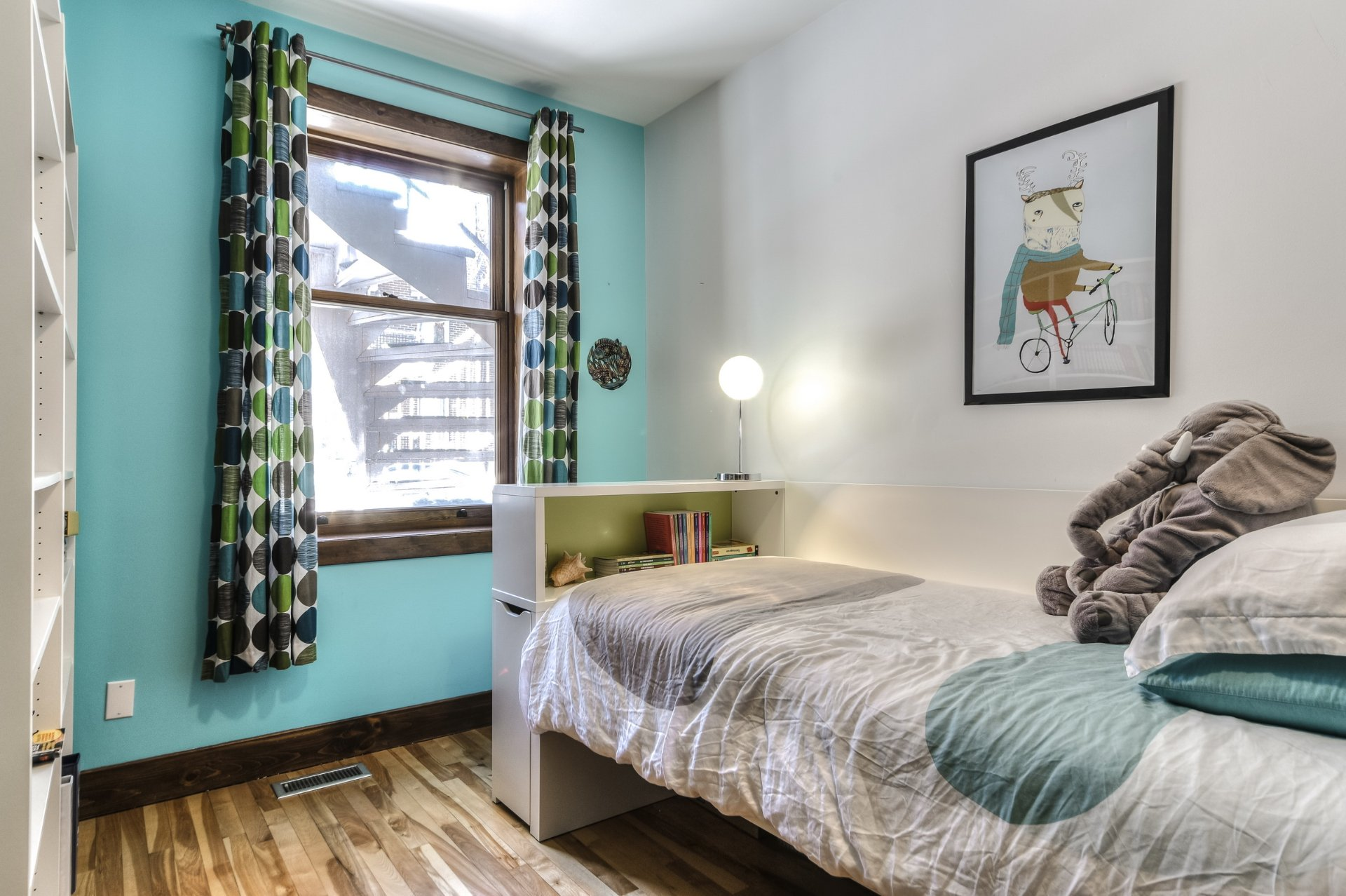 Chambre à coucher Condo Montréal (Rosemont/La Petite-Patrie)