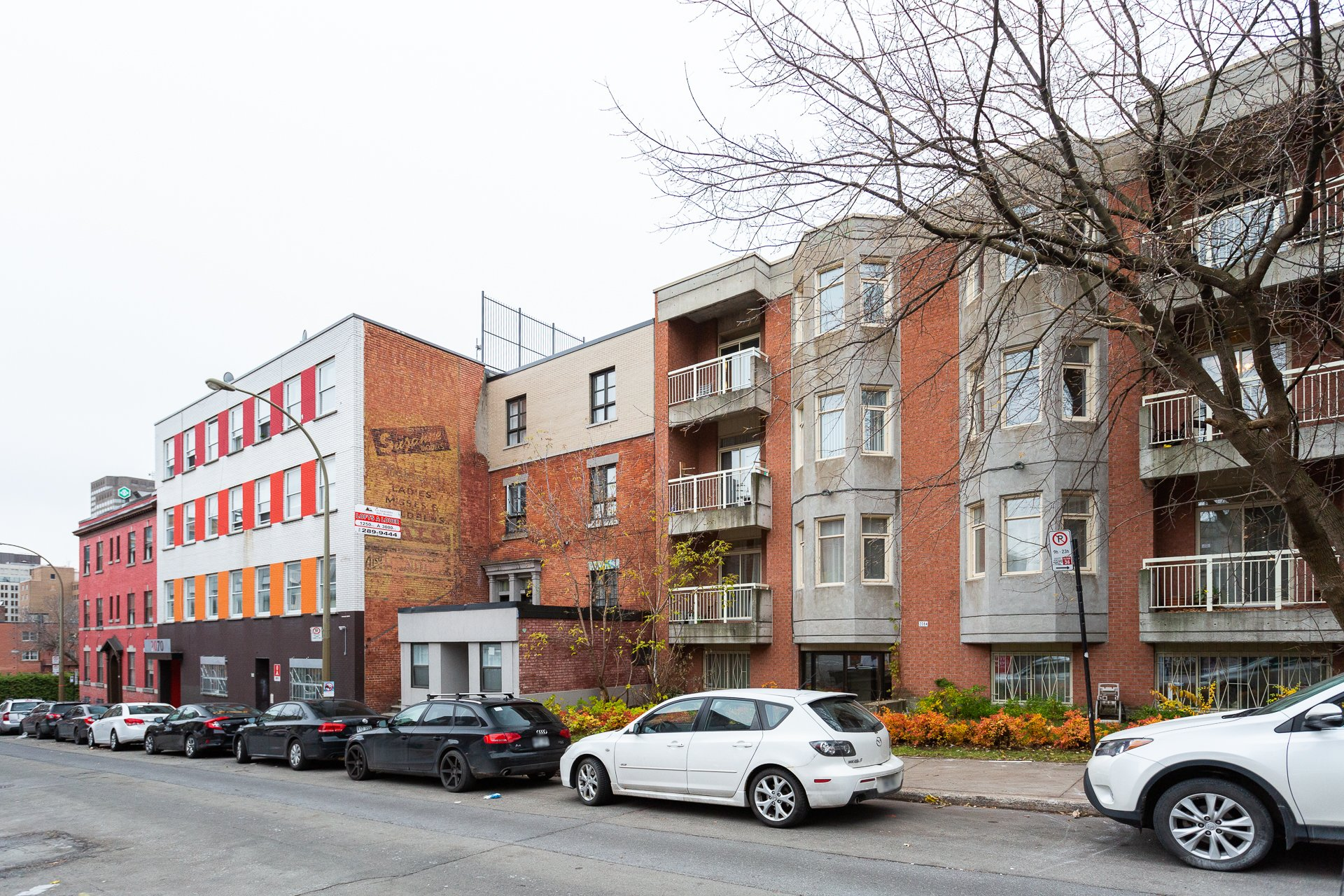 Façade Condo Montréal (Ville-Marie)