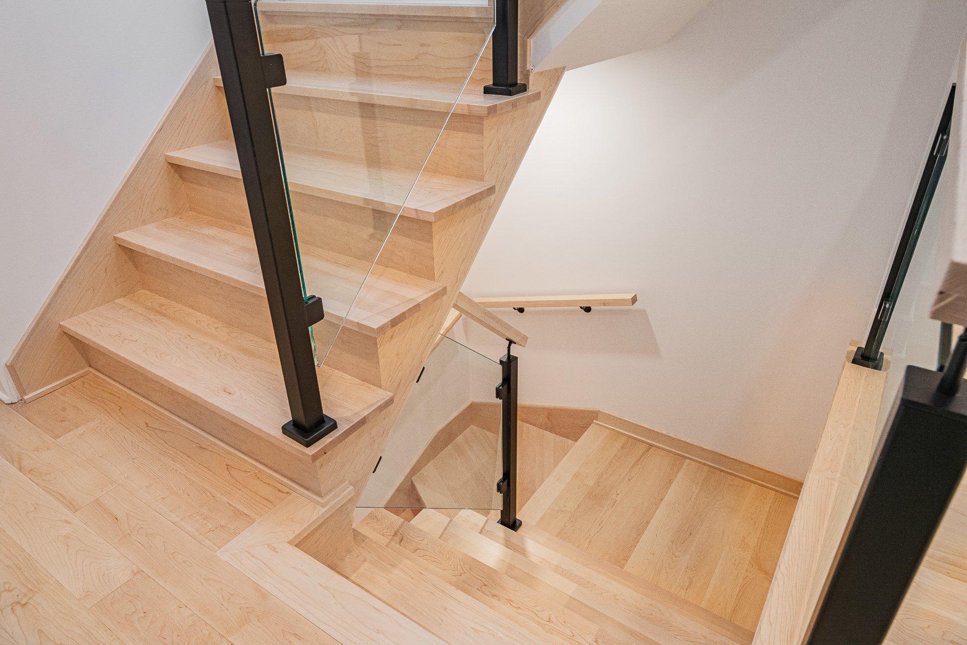Escalier Maison Montréal (Villeray/Saint-Michel/Parc-Extension)