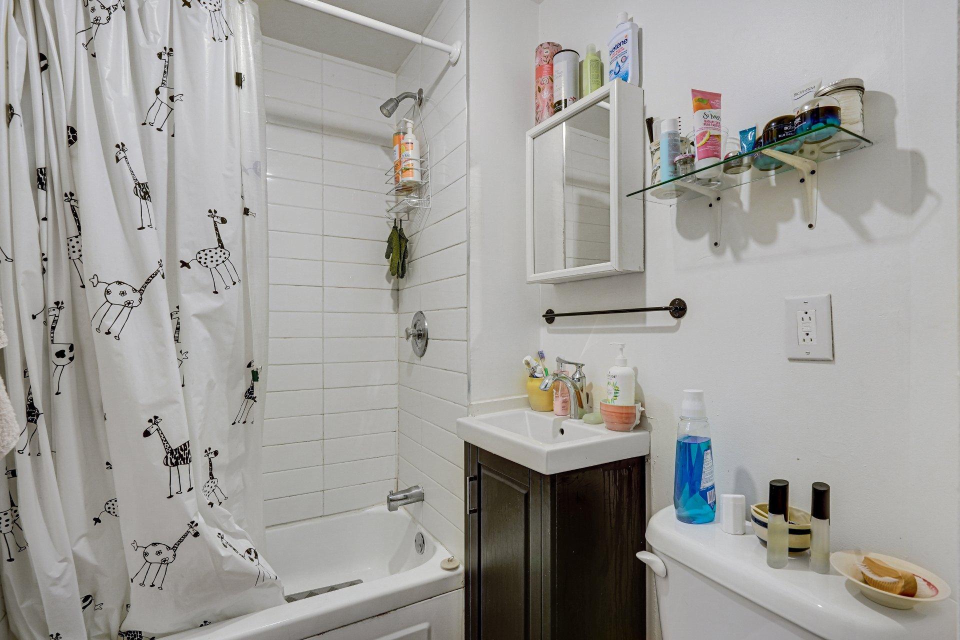 Salle de bains Propriété à revenus Montréal (Rosemont/La Petite-Patrie)