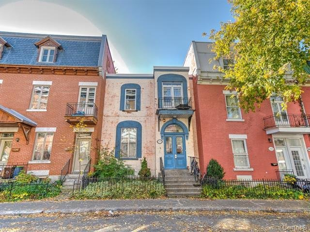 Façade Maison Montréal (Ville-Marie)