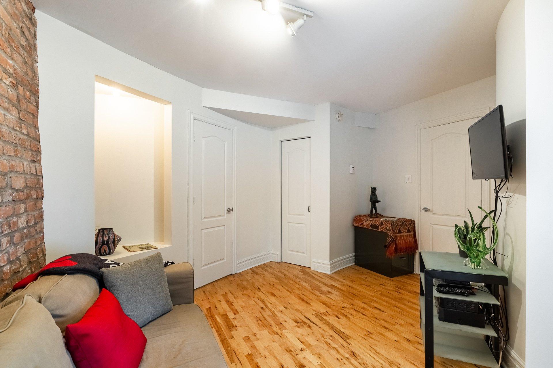 Chambre à coucher Condo Montréal (Le Plateau-Mont-Royal)