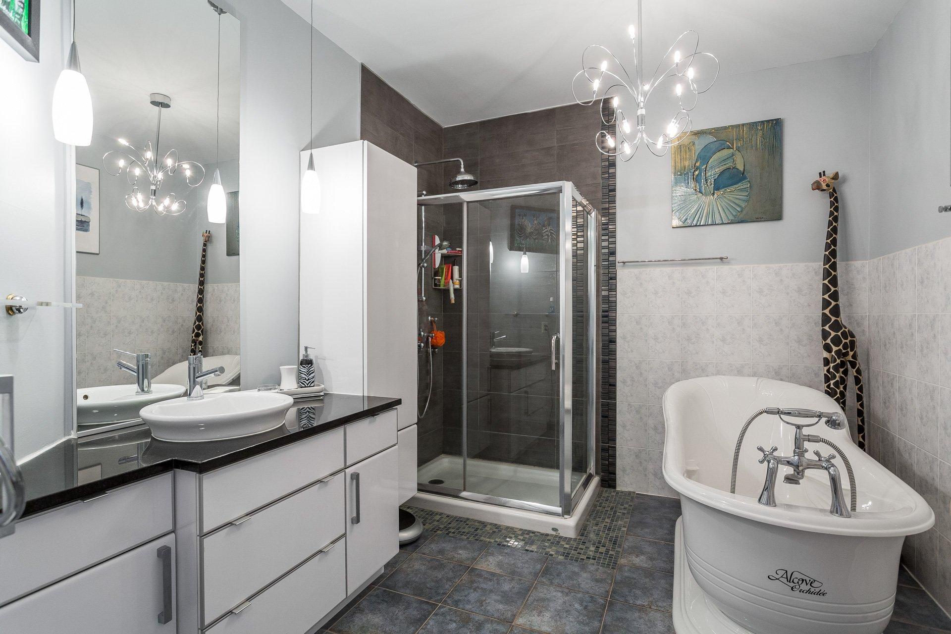Salle de bains Condo Montréal (Rosemont/La Petite-Patrie)