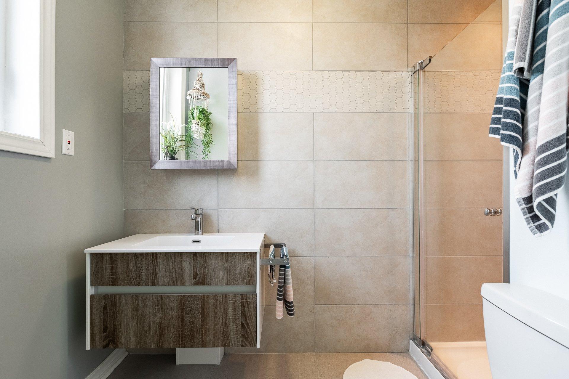 Salle de bains Triplex Montréal (Mercier/Hochelaga-Maisonneuve)