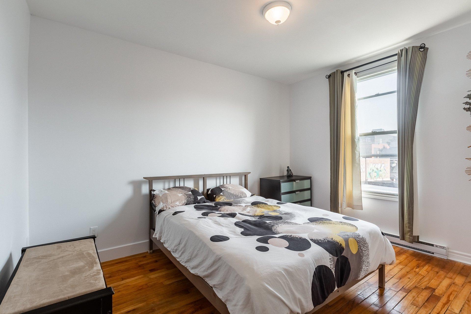 Chambre à coucher Triplex Montréal (Mercier/Hochelaga-Maisonneuve)