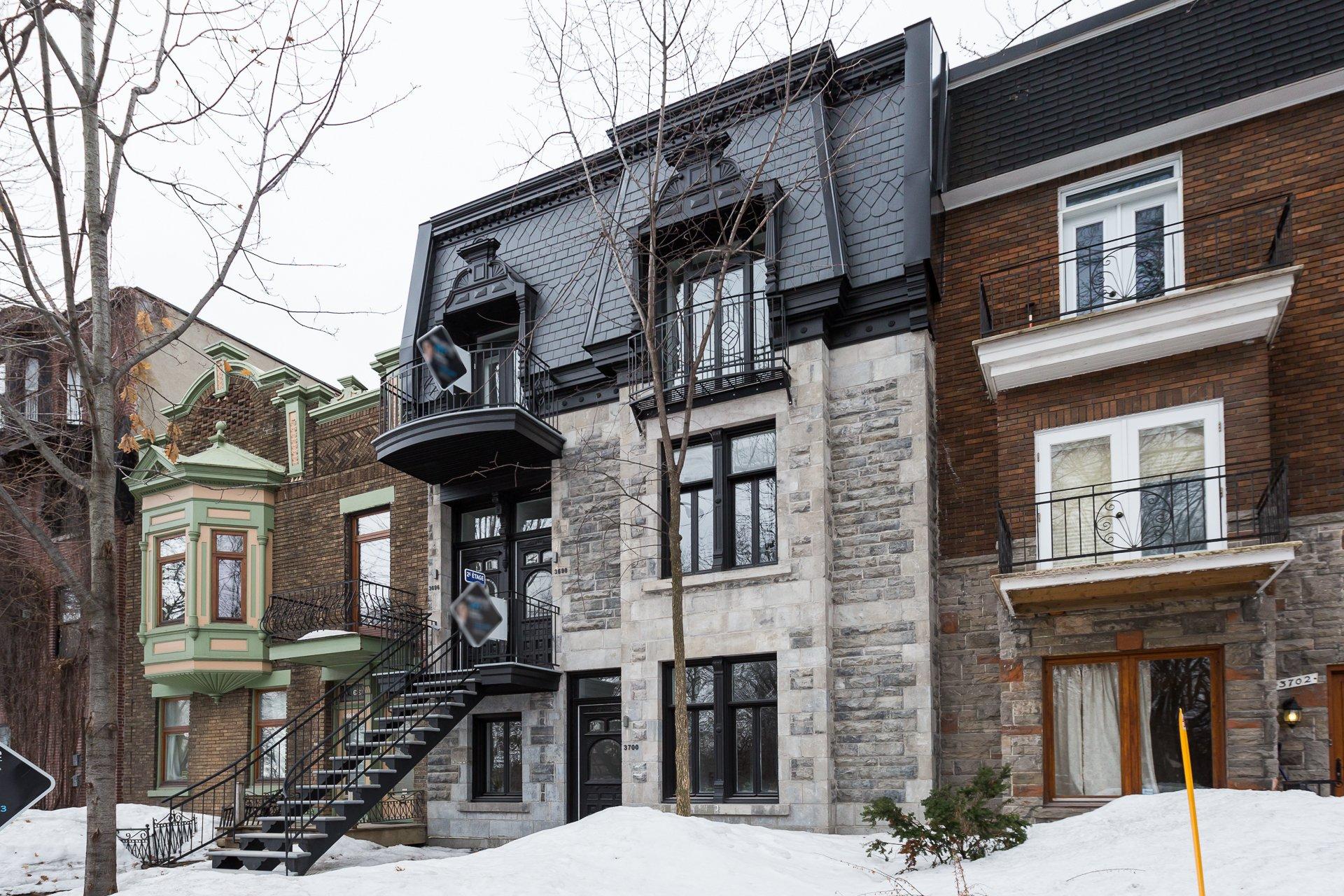 Façade Condo Montréal (Le Plateau-Mont-Royal)