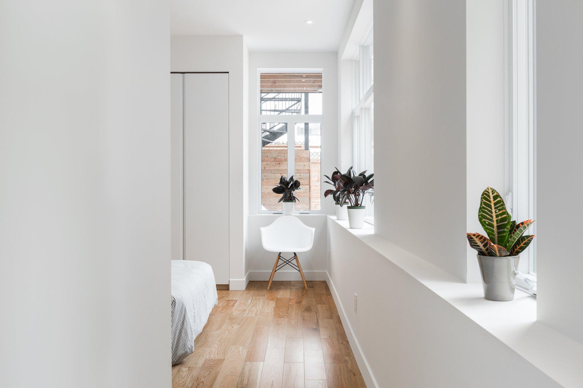 Chambre à coucher principale Condo Montréal (Le Plateau-Mont-Royal)